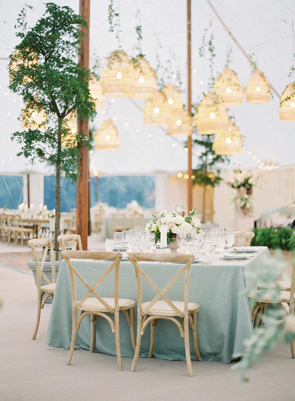 lauren alex wedding reception tables