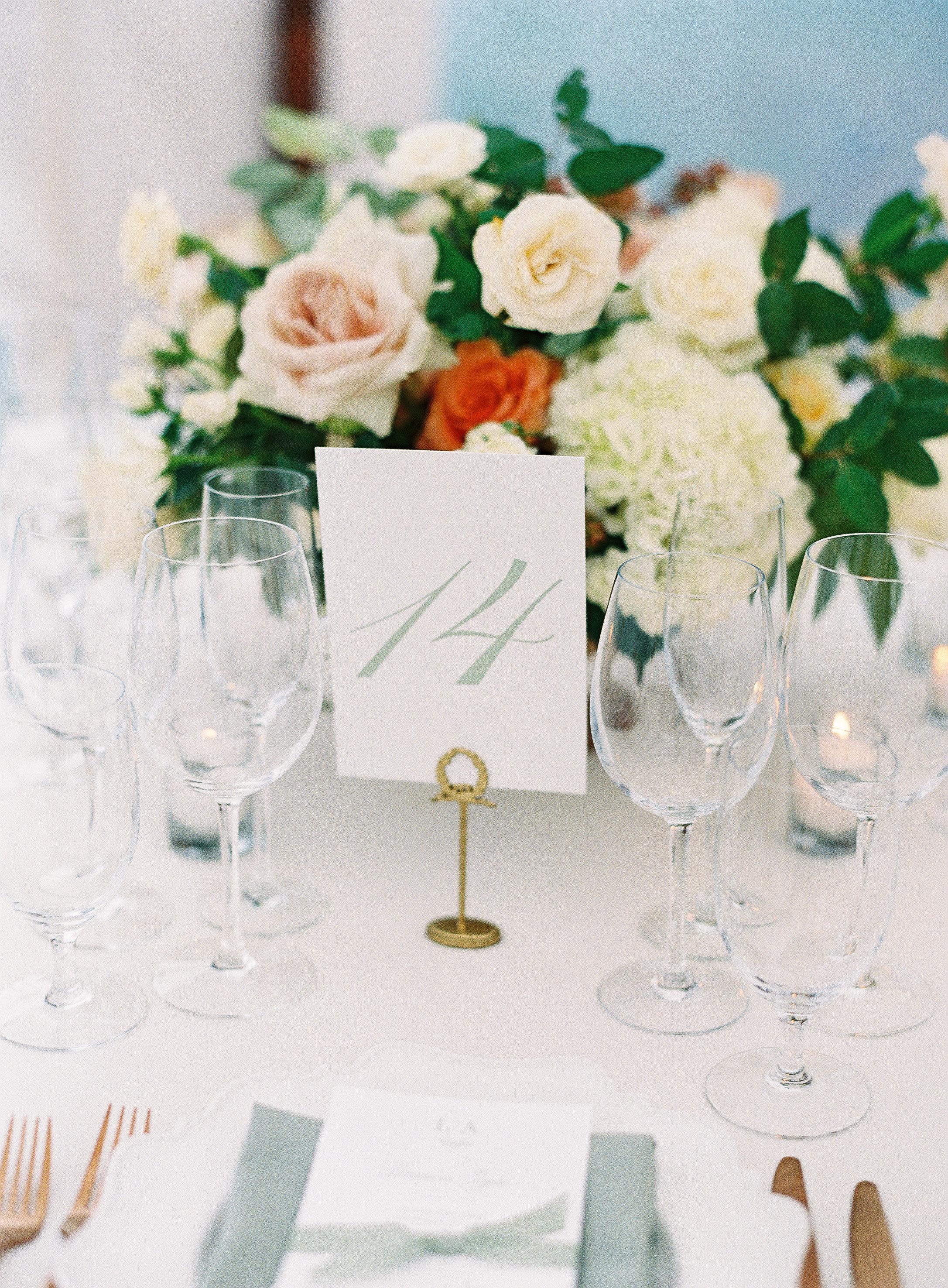 lauren alex wedding table numbers