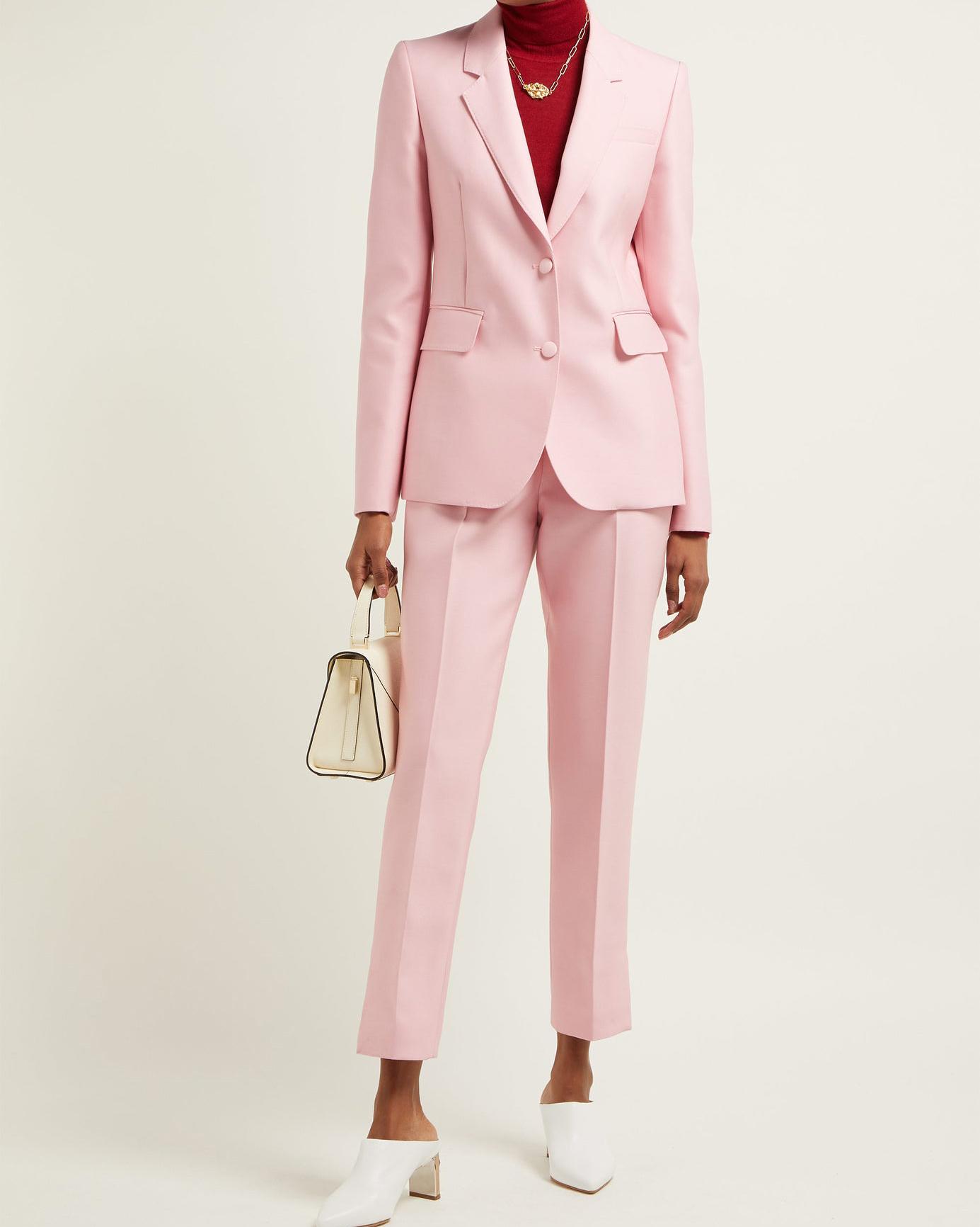 "Pink ""Sophie"" Blazer ""Masto"" Trousers"