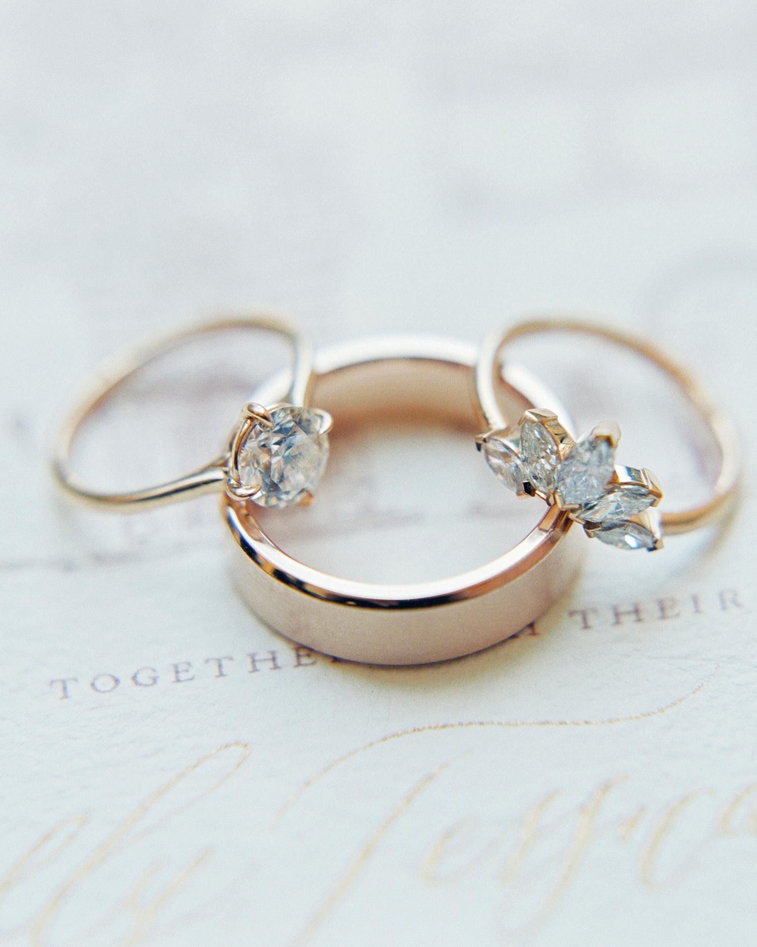 molly josh wedding rings