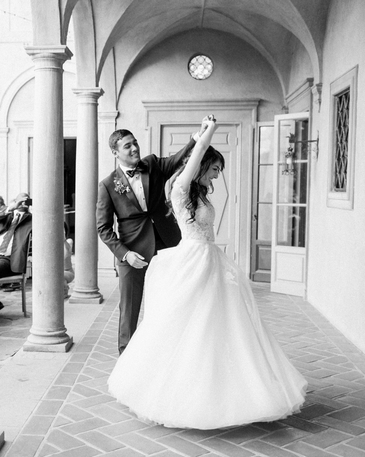 molly josh wedding couple dancing