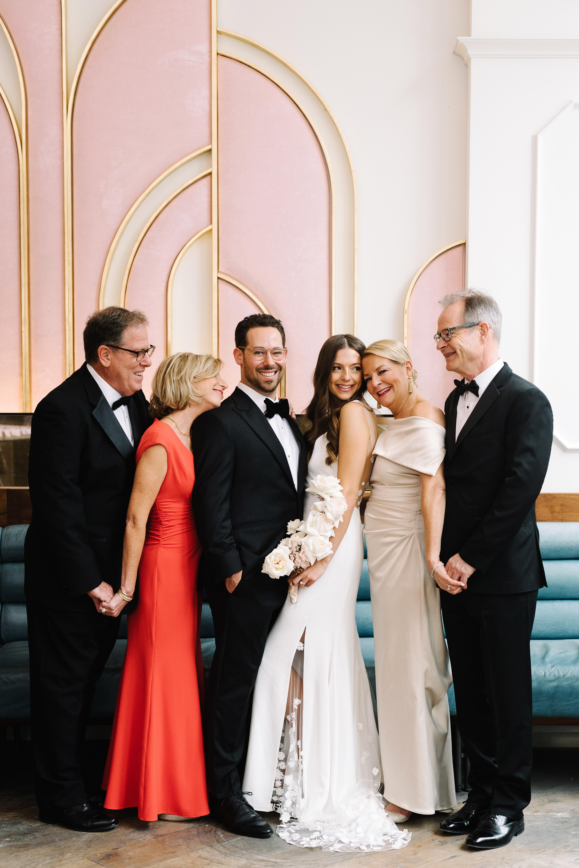 krista will wedding bride groom and parents