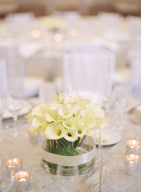 Lily Wedding Centerpiece