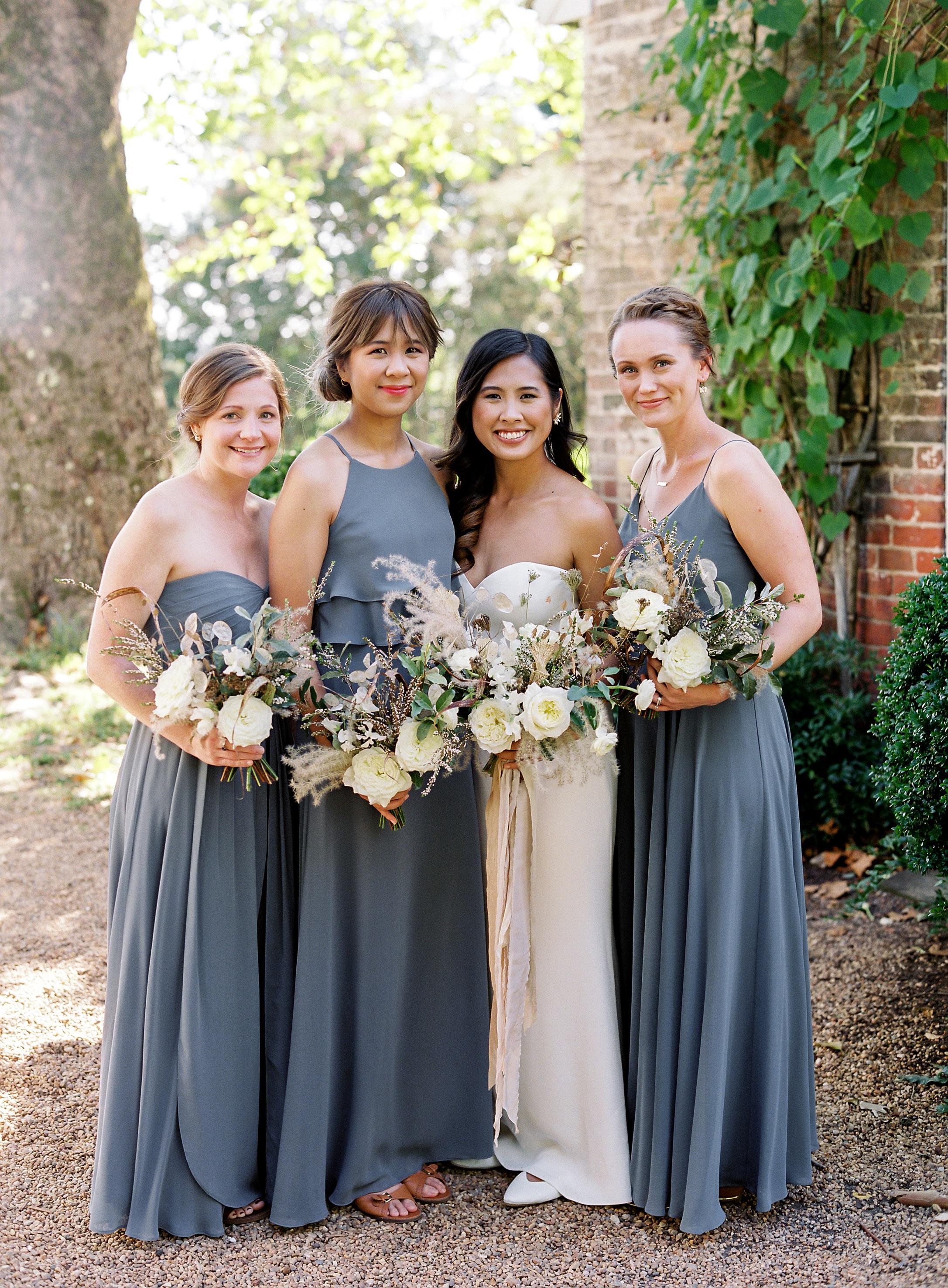 linda robert wedding bridesmaids