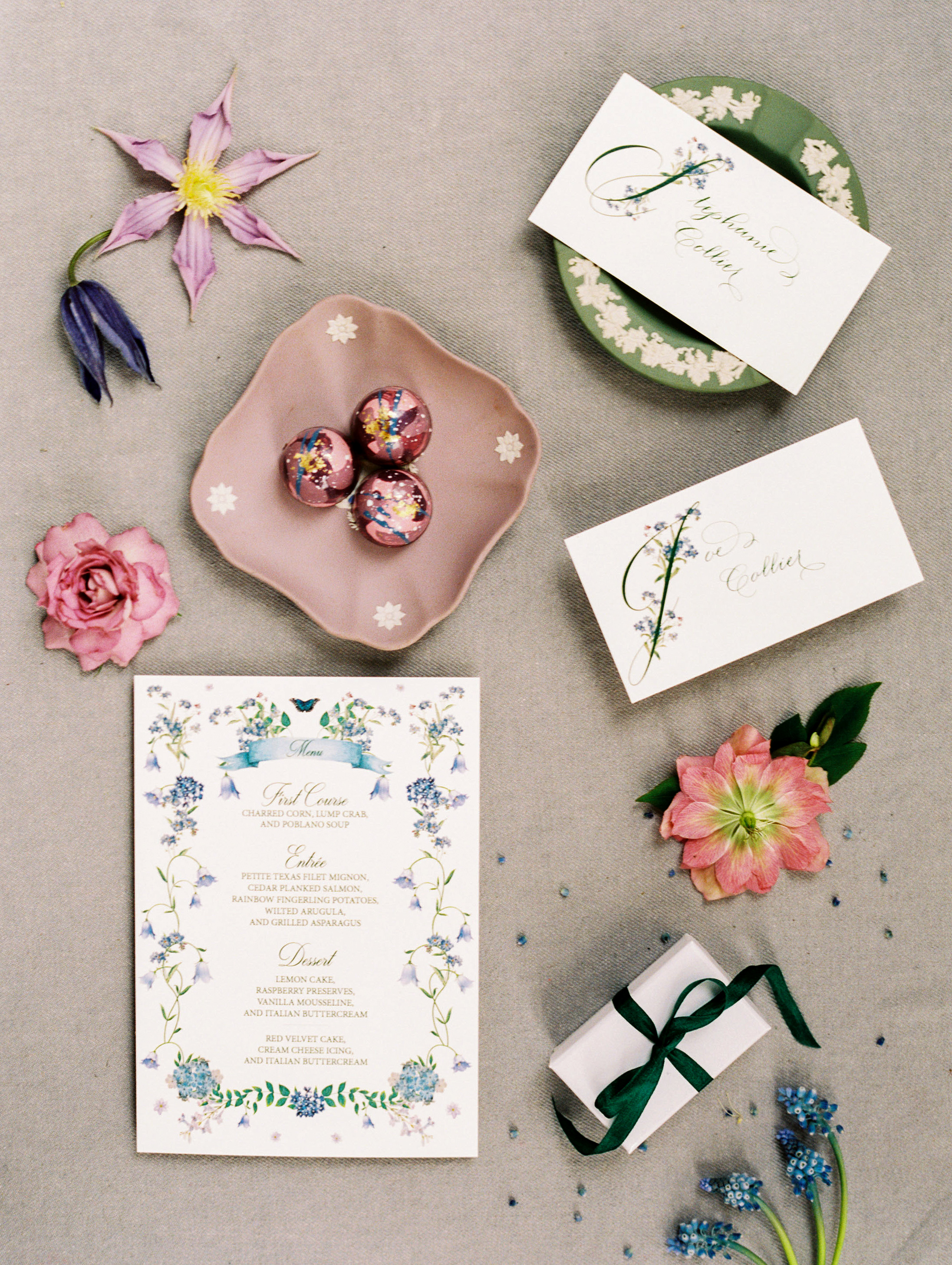stephanie joe wedding invitation stationery suite
