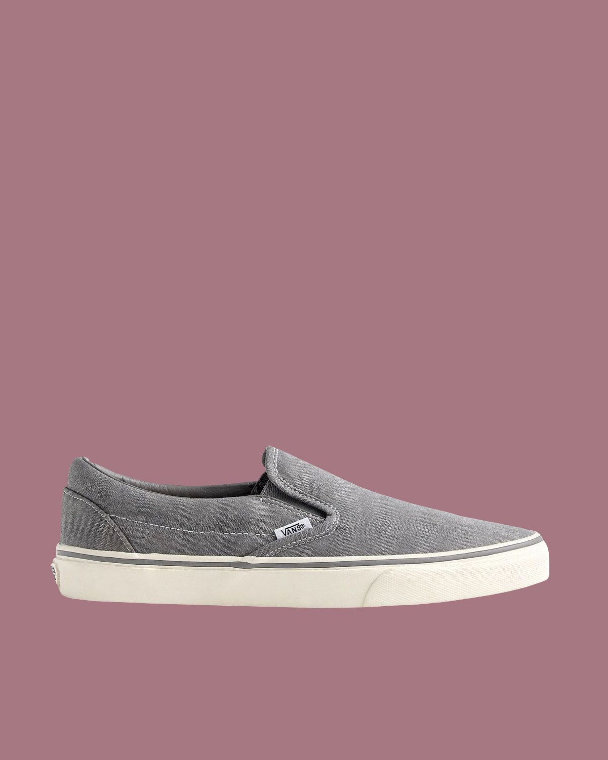 Vans for J. Crew Washed Canvas Classic Slip-On Sneakers