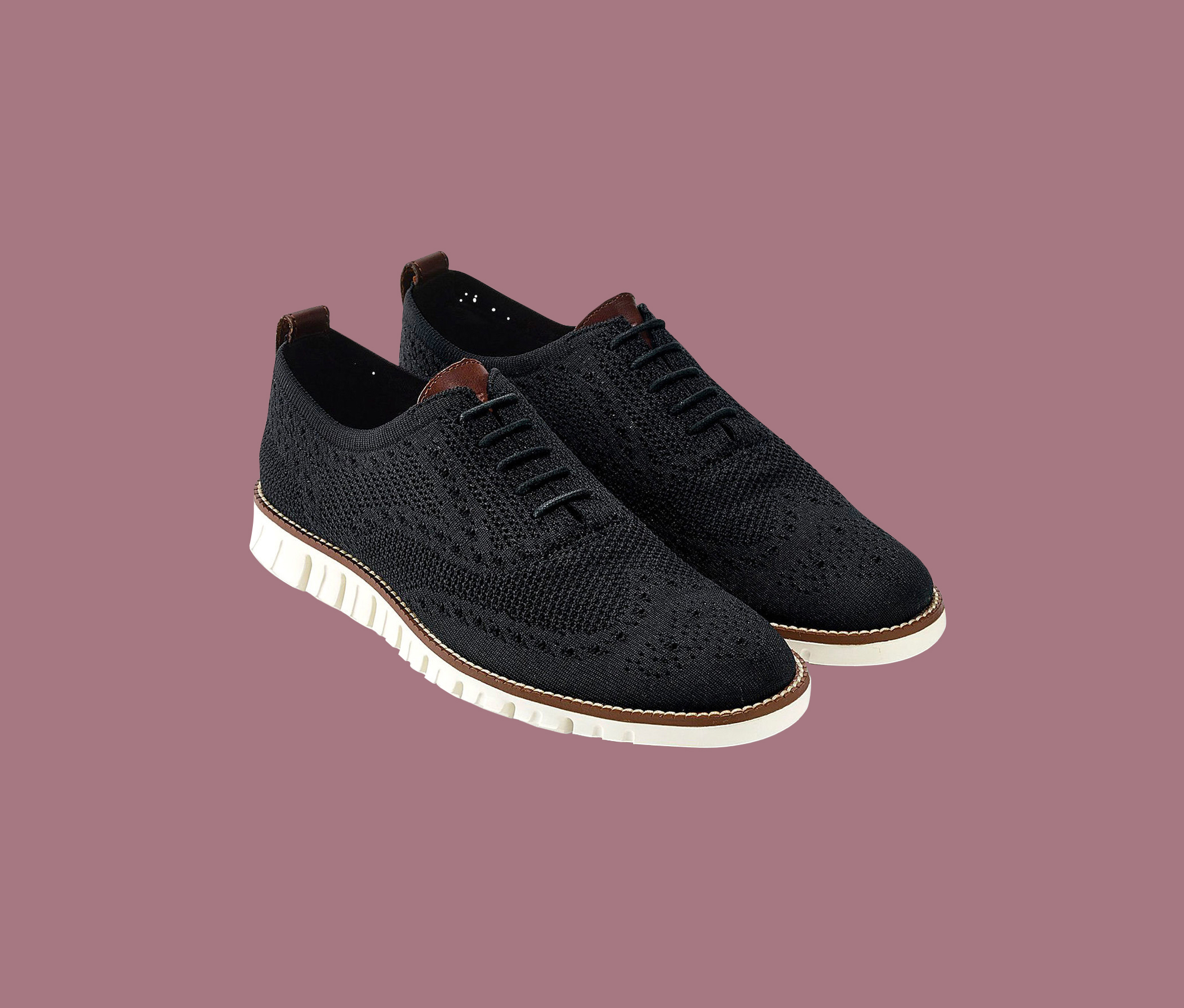 "Cole Haan ""ZeroGrand"" Knit Oxford Sneakers"