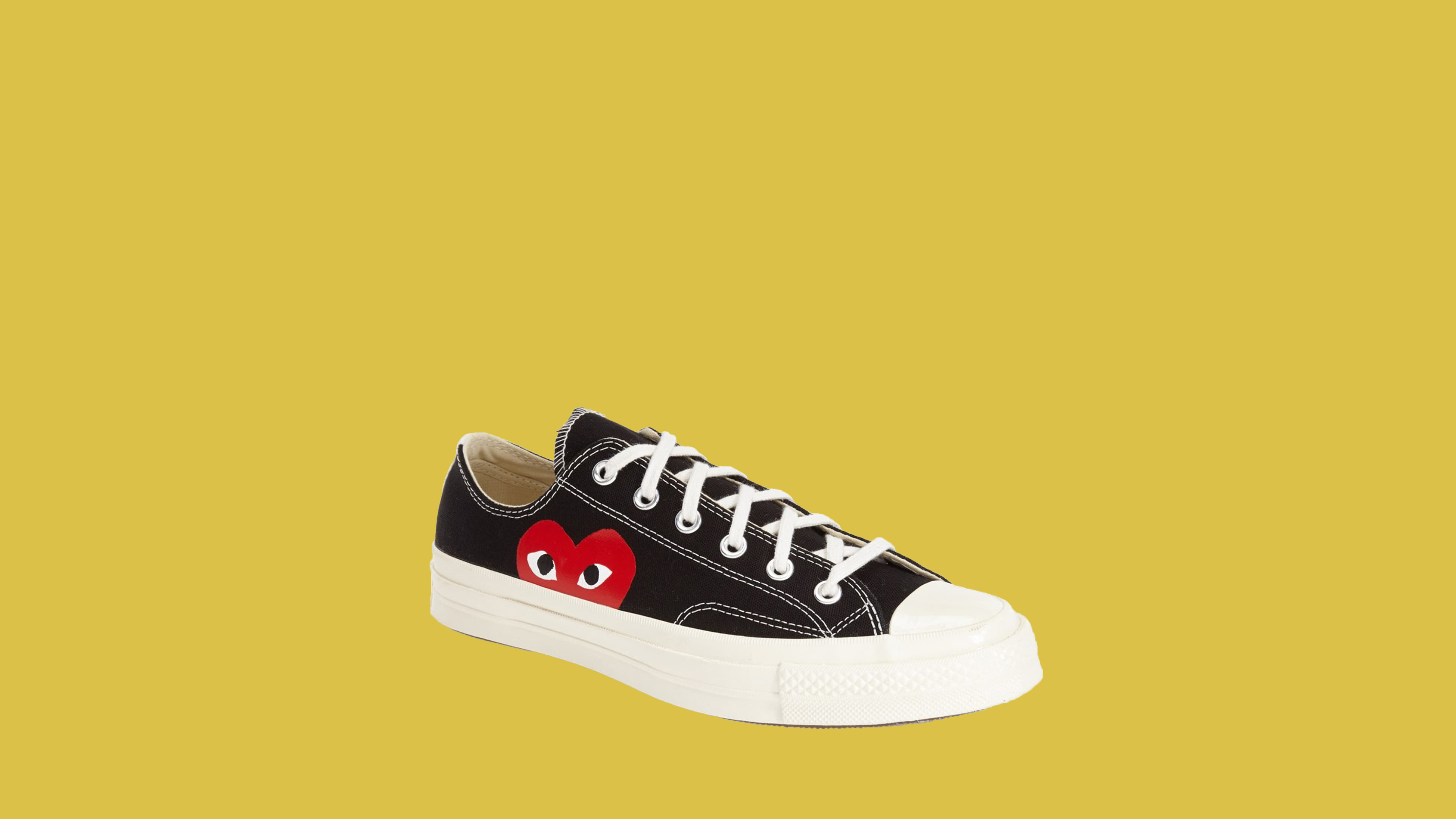 "Commes des Garcons Play X Converse ""Chuck Taylor"" Low-Top Sneakers"