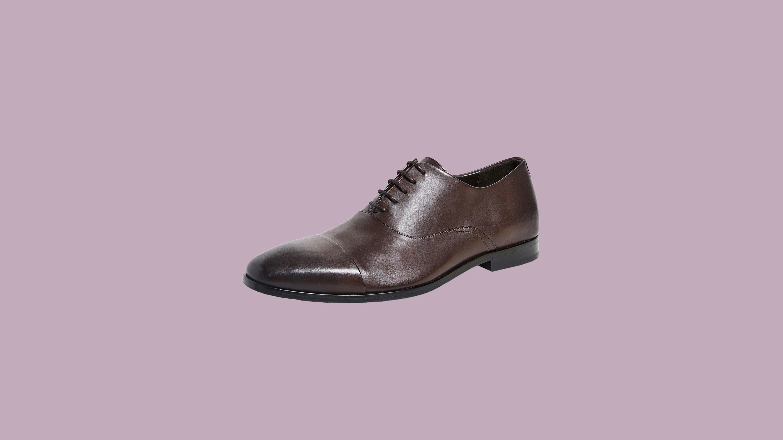 """Boss Hugo Boss """"Highline"""" Cap-Toe Derby Lace-Up Shoes"""