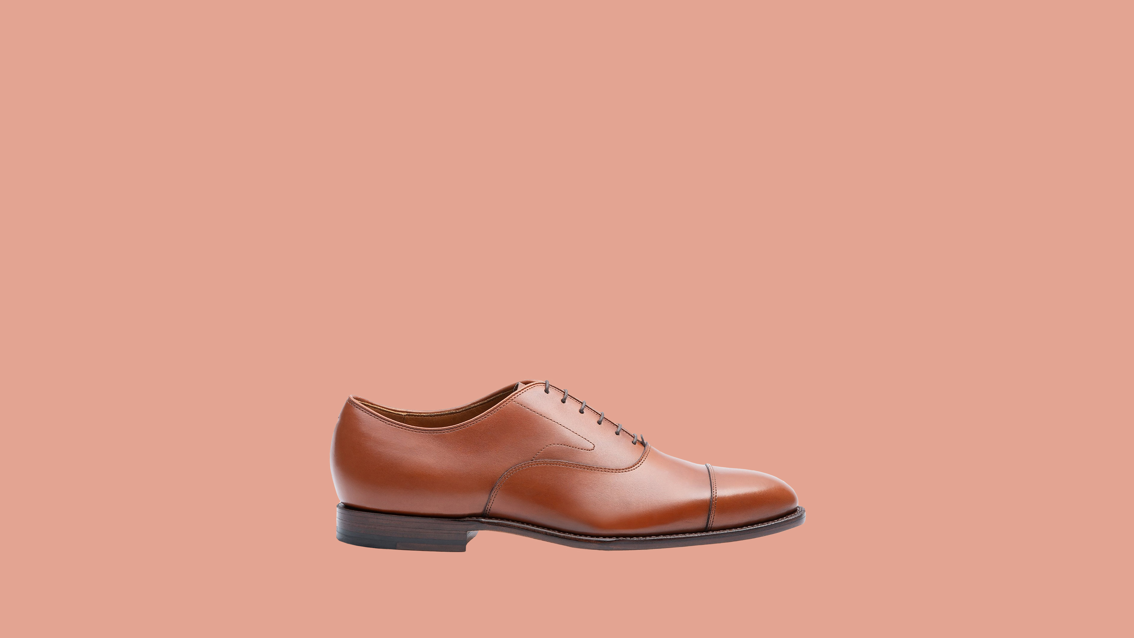 Grant Stone Cap-Toe Oxfords
