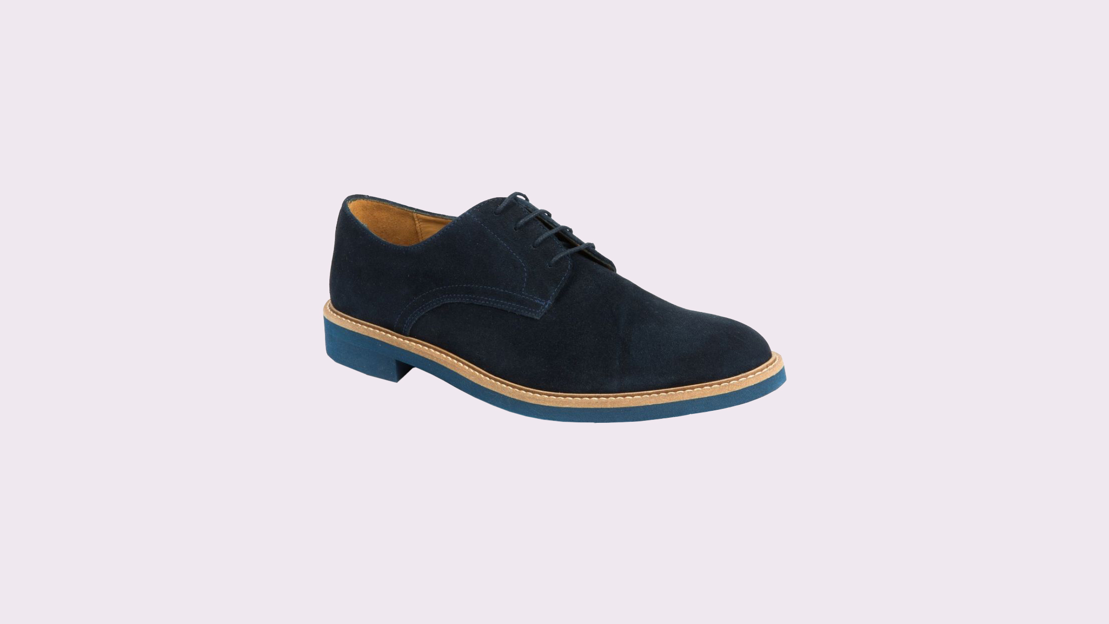 "Austen Heller ""Bucks"" in Navy Suede"