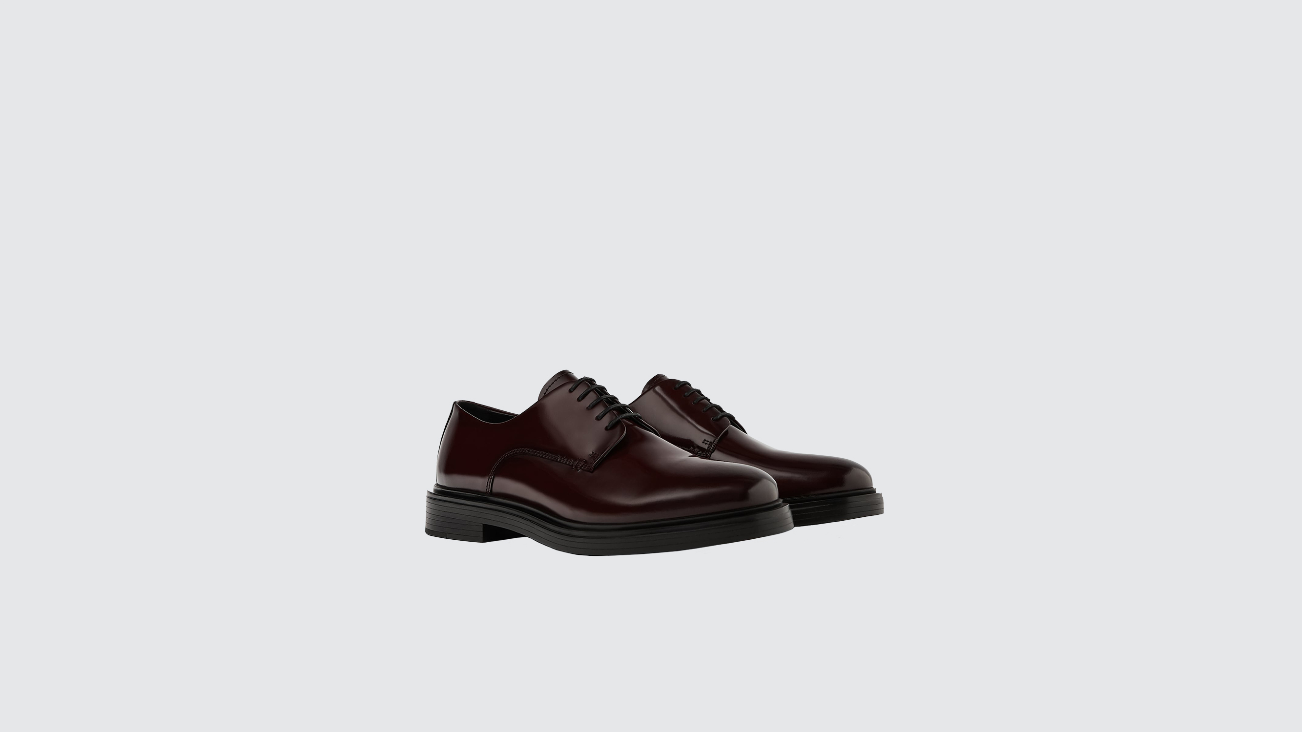 Zara Glossy Finish Leather Shoes