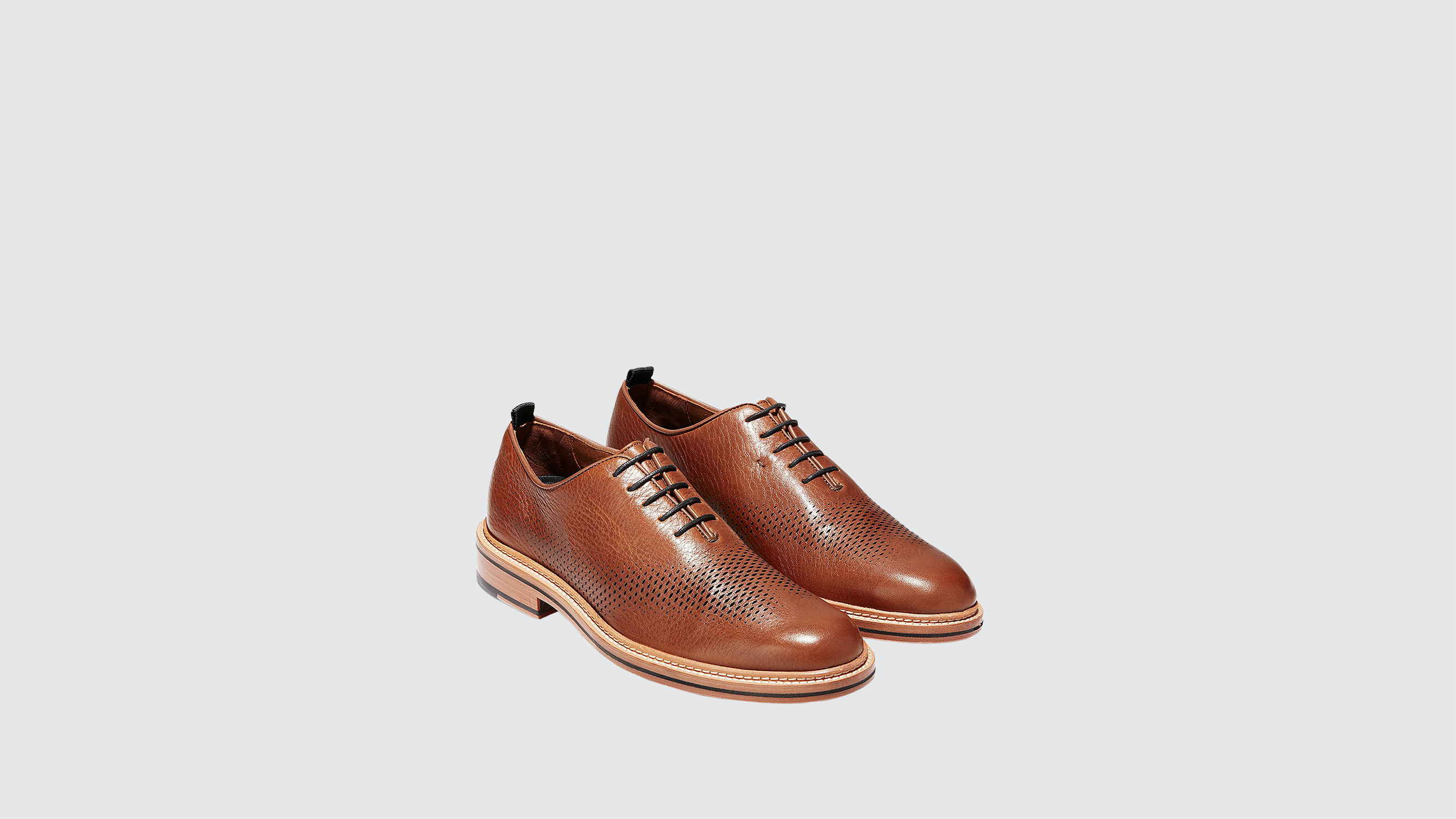 "Cole Haan ""Washington"" Grand Laser Wingtip Oxfords"