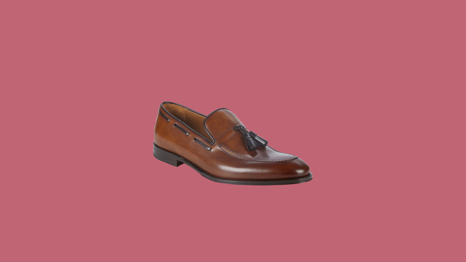 "Bruno Magli ""Fabiolo"" Leather Dress Loafers"
