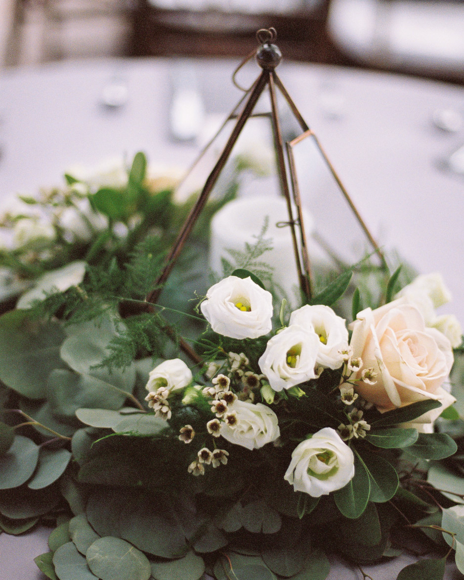 terrarium wedding ideas Surrounded by Florals