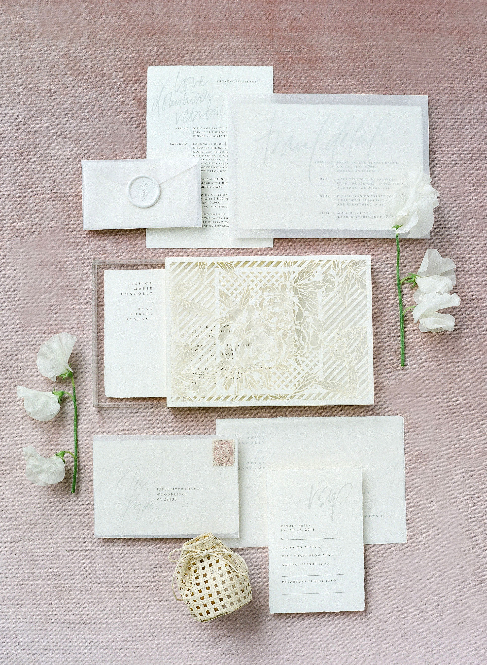 jessica ryan wedding invitations