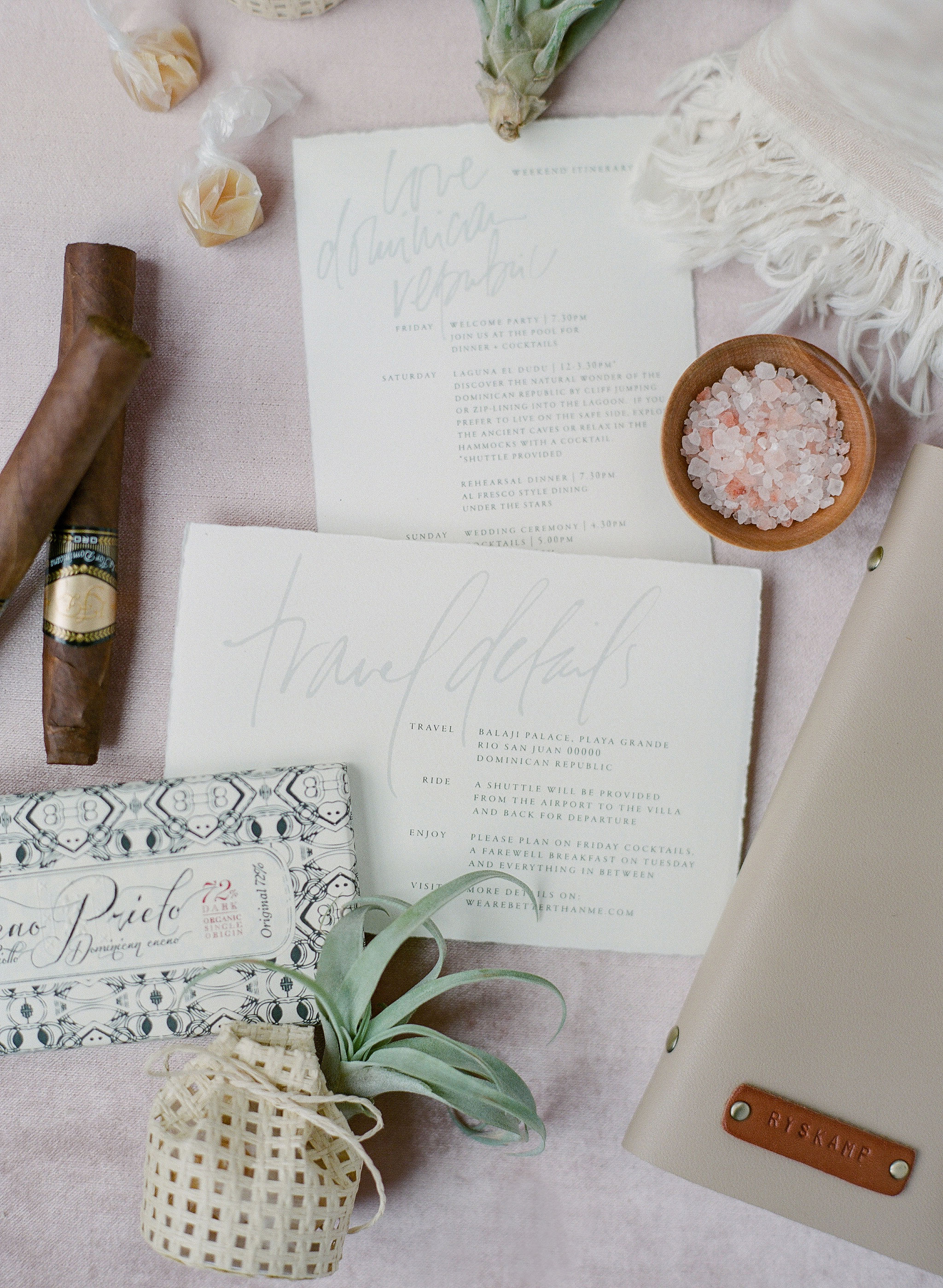 jessica ryan wedding bags destination themed