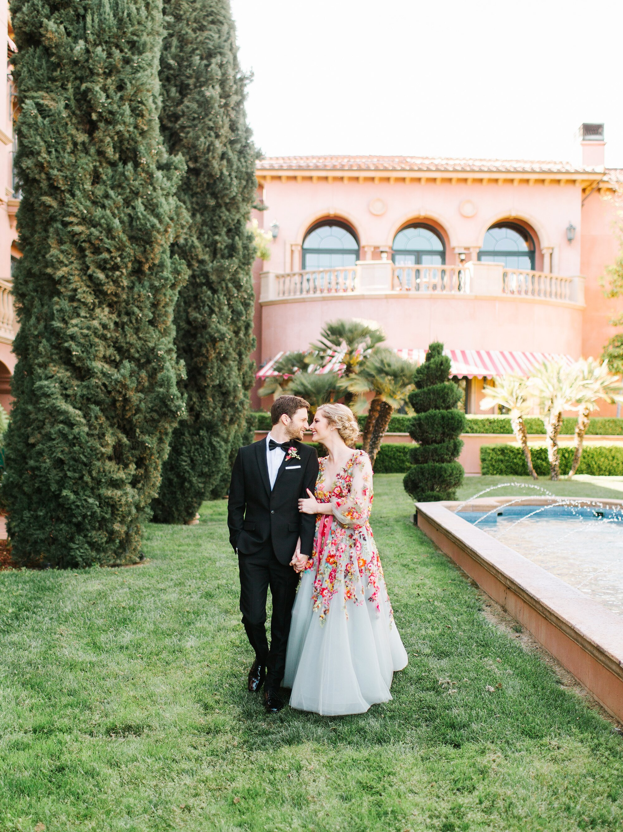 A Bright Colorful San Diego Wedding Inspired By Smoothies
