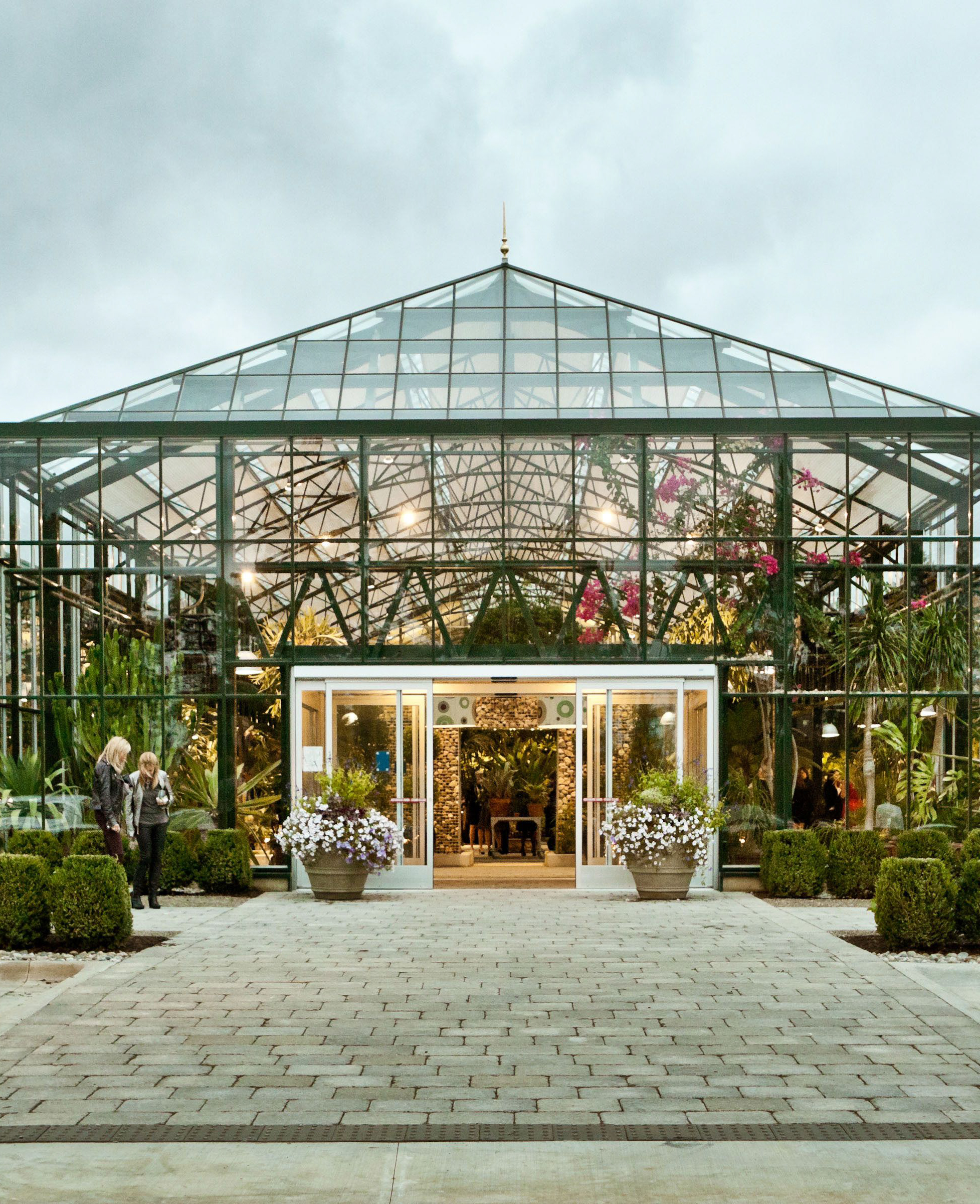 planterra conservatory glass greenhouse entrance