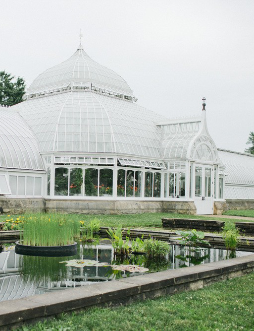 Phipps Conservatory and Botanical Gardens in Pittsburgh, Pennsylvania