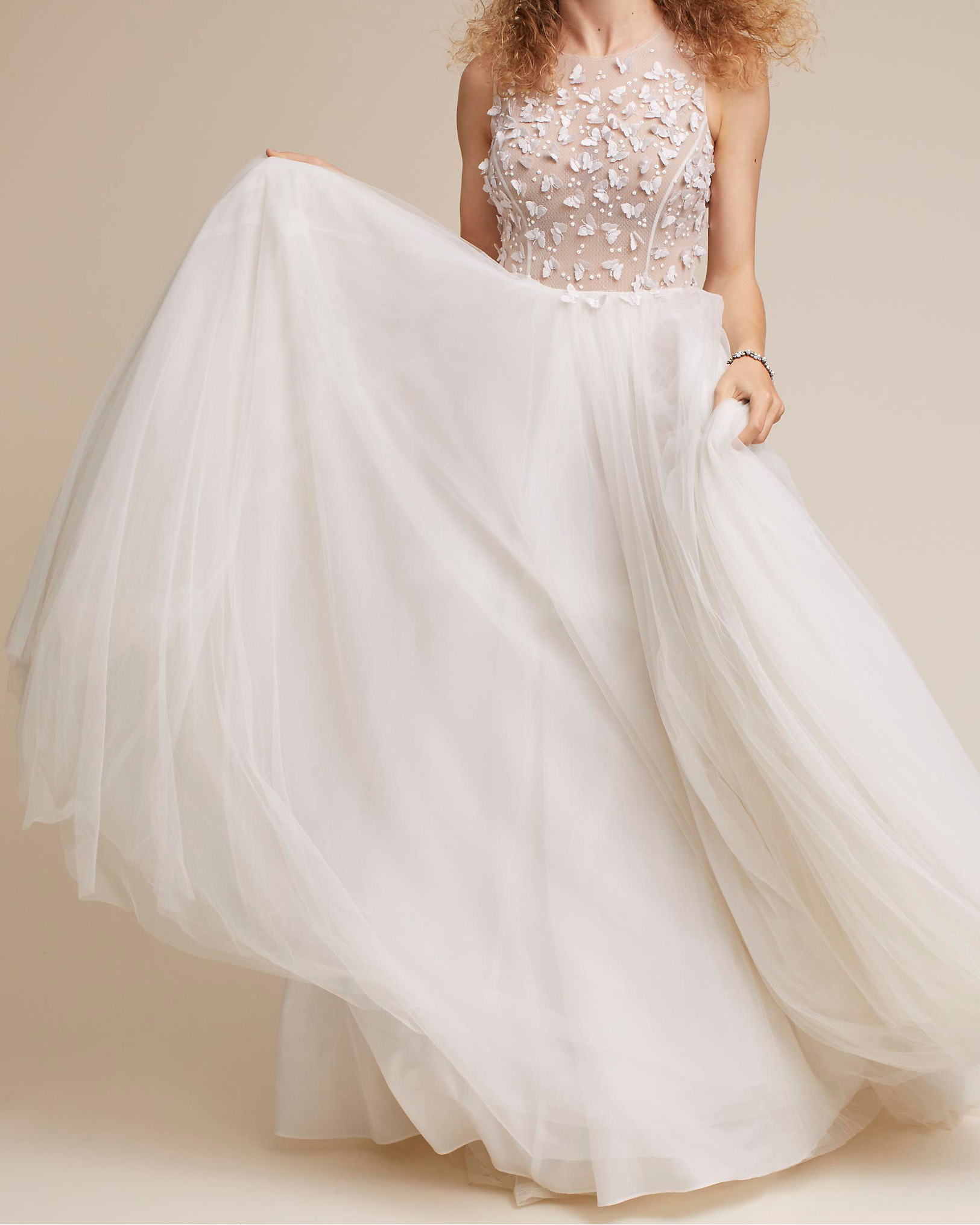 "BHLDN ""Floating on Air"" Wedding Dress"