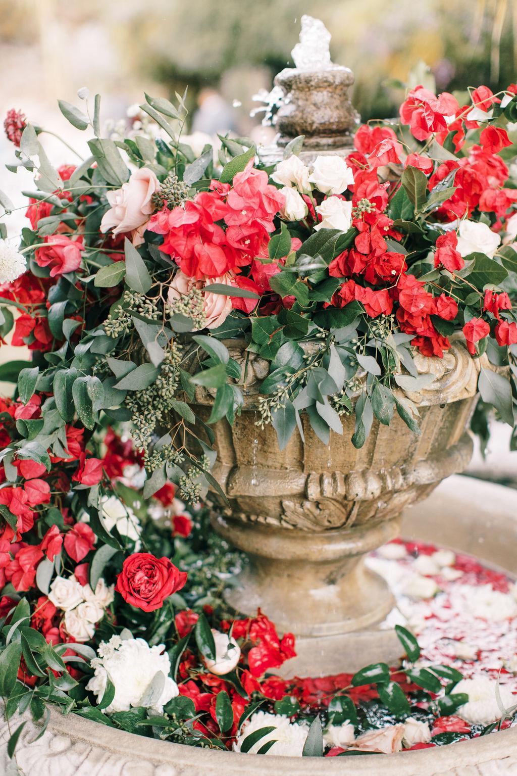 meagan robert wedding florals in fountain