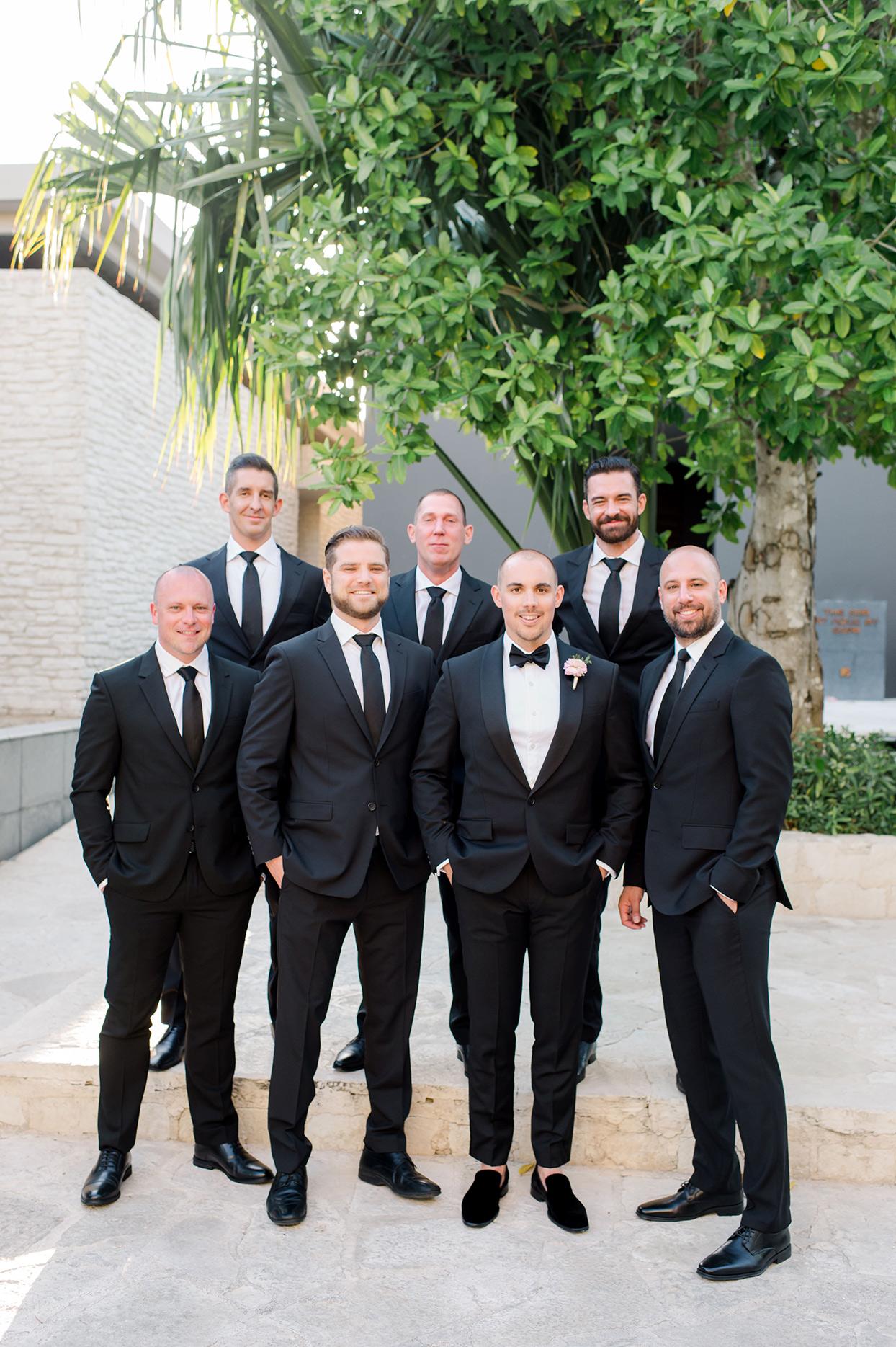 katie nick wedding groomsmen