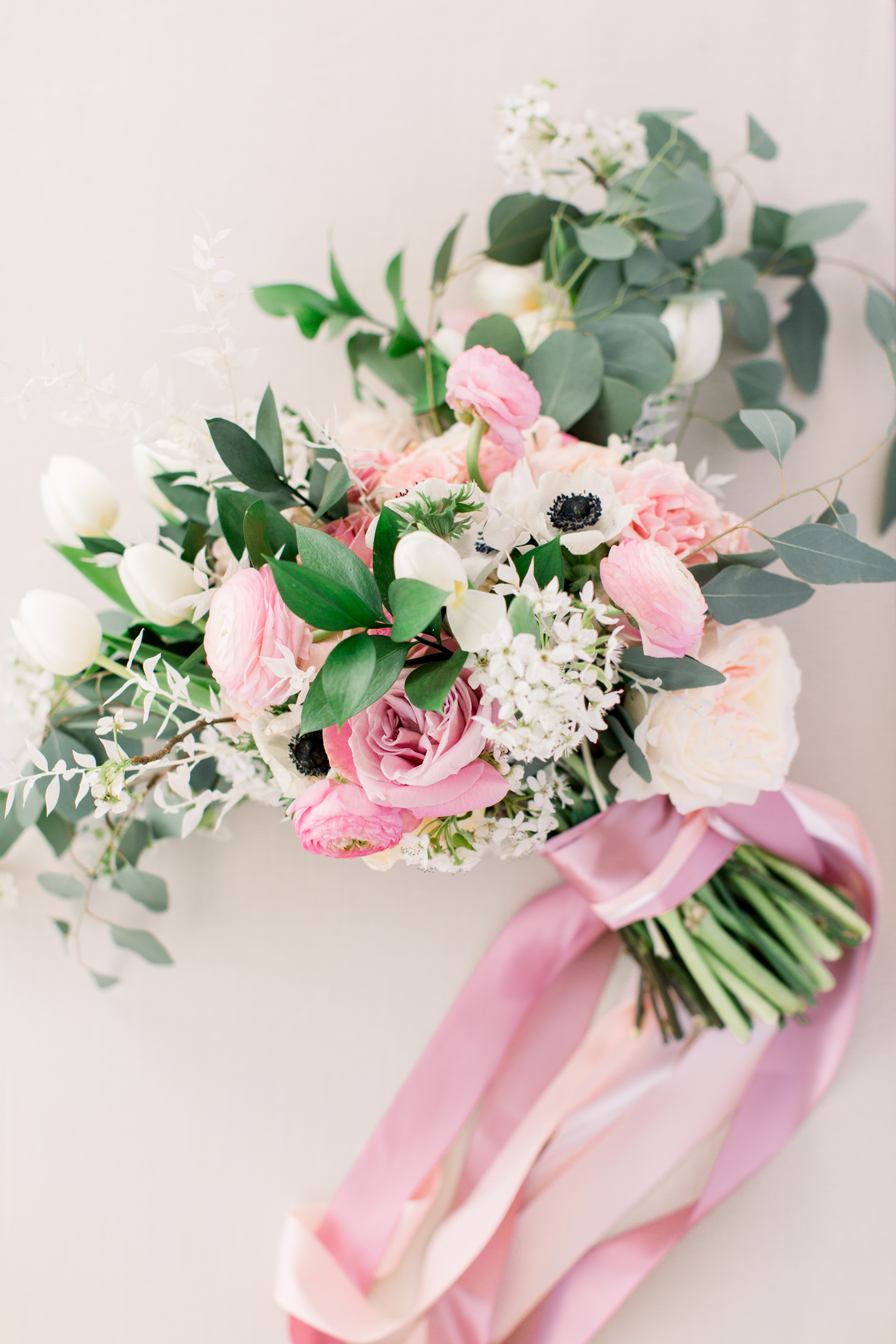 michelle nathan wedding bride's bouquet