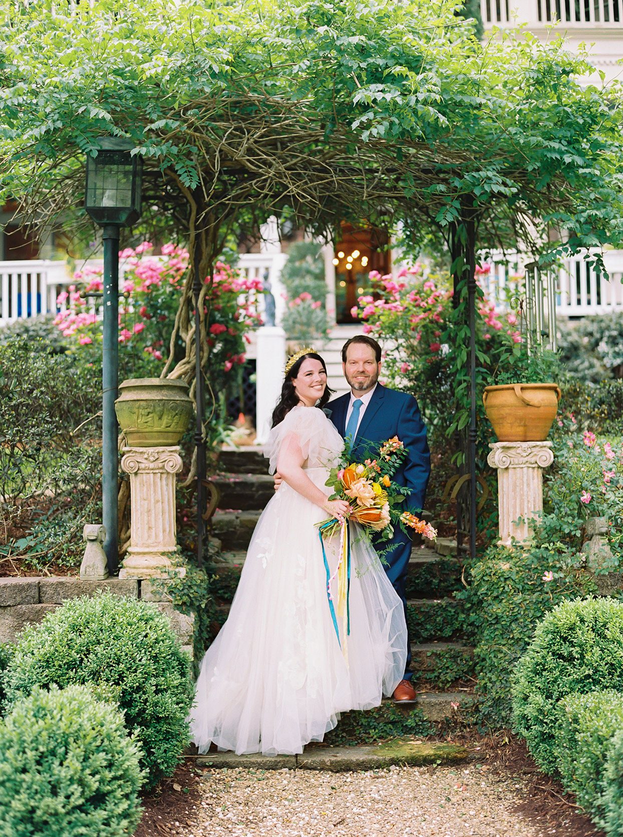 This English Garden Inspired Wedding In North Carolina Was