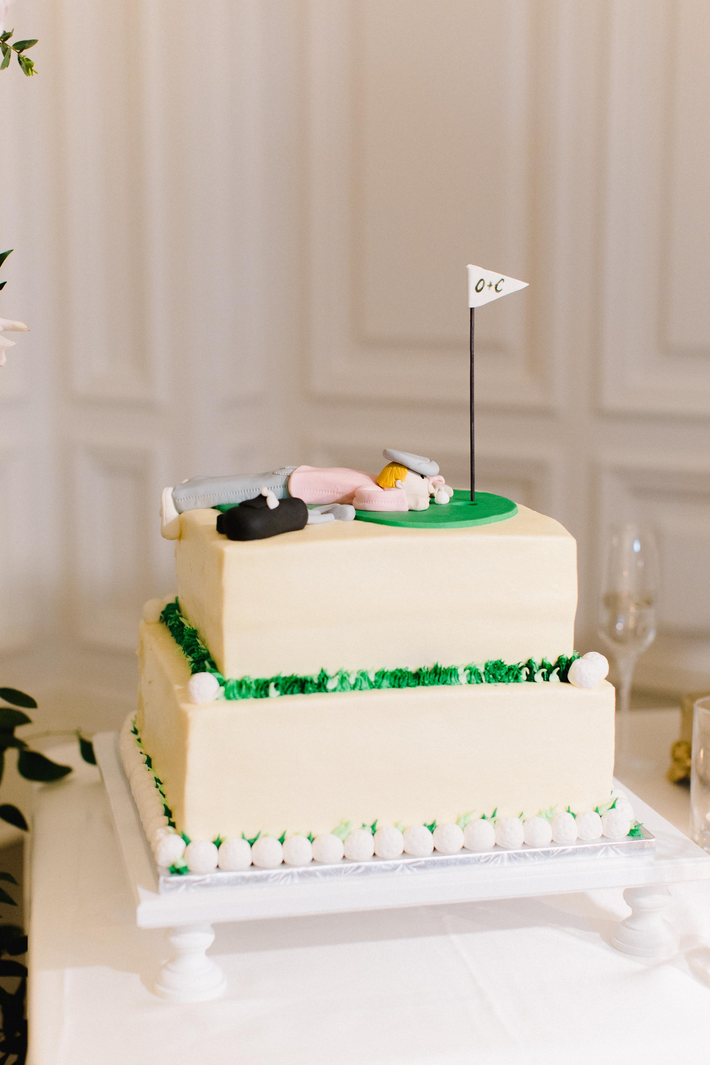 olivia collin wedding grooms cake