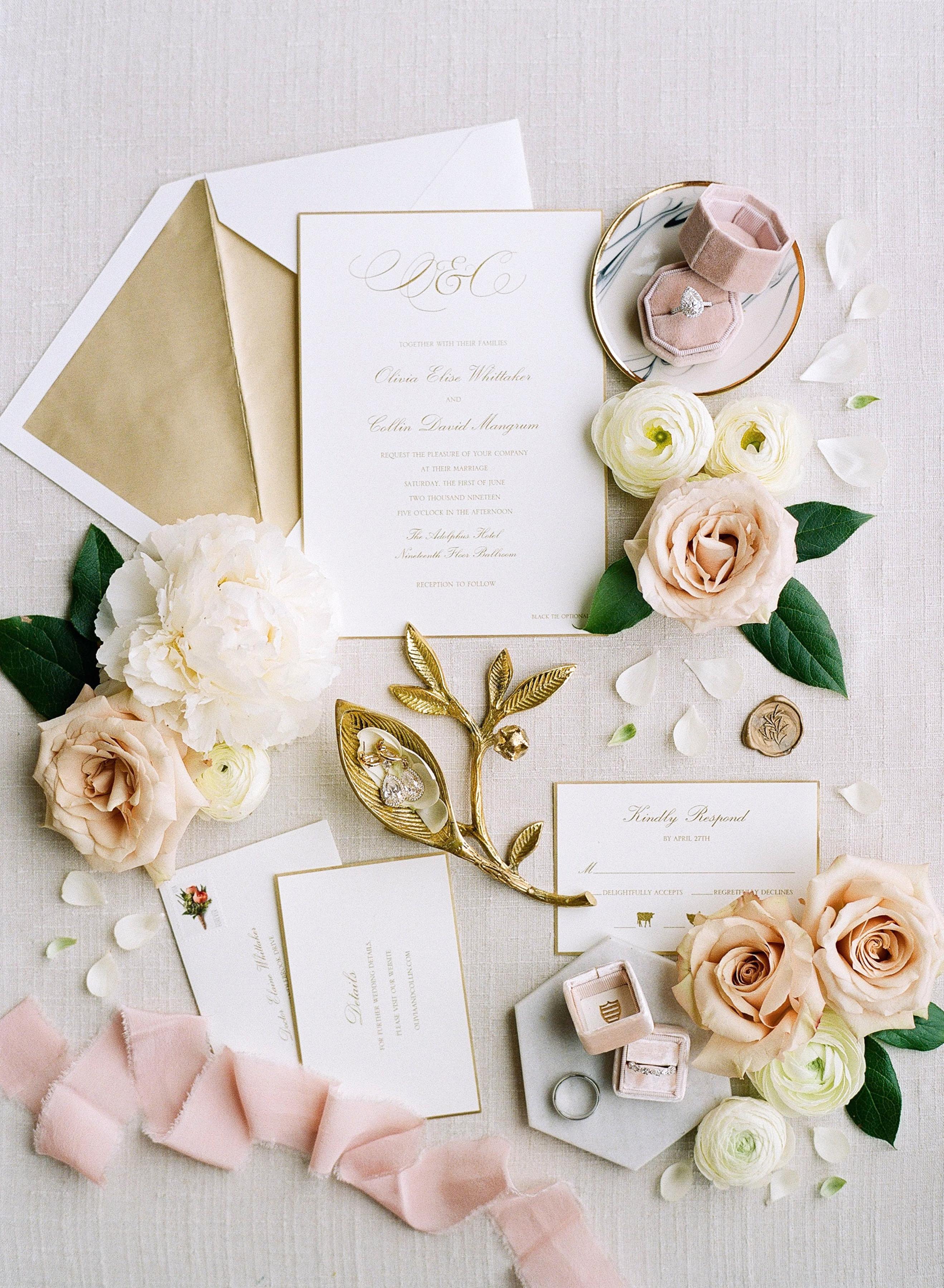 olivia collin wedding invitation suite