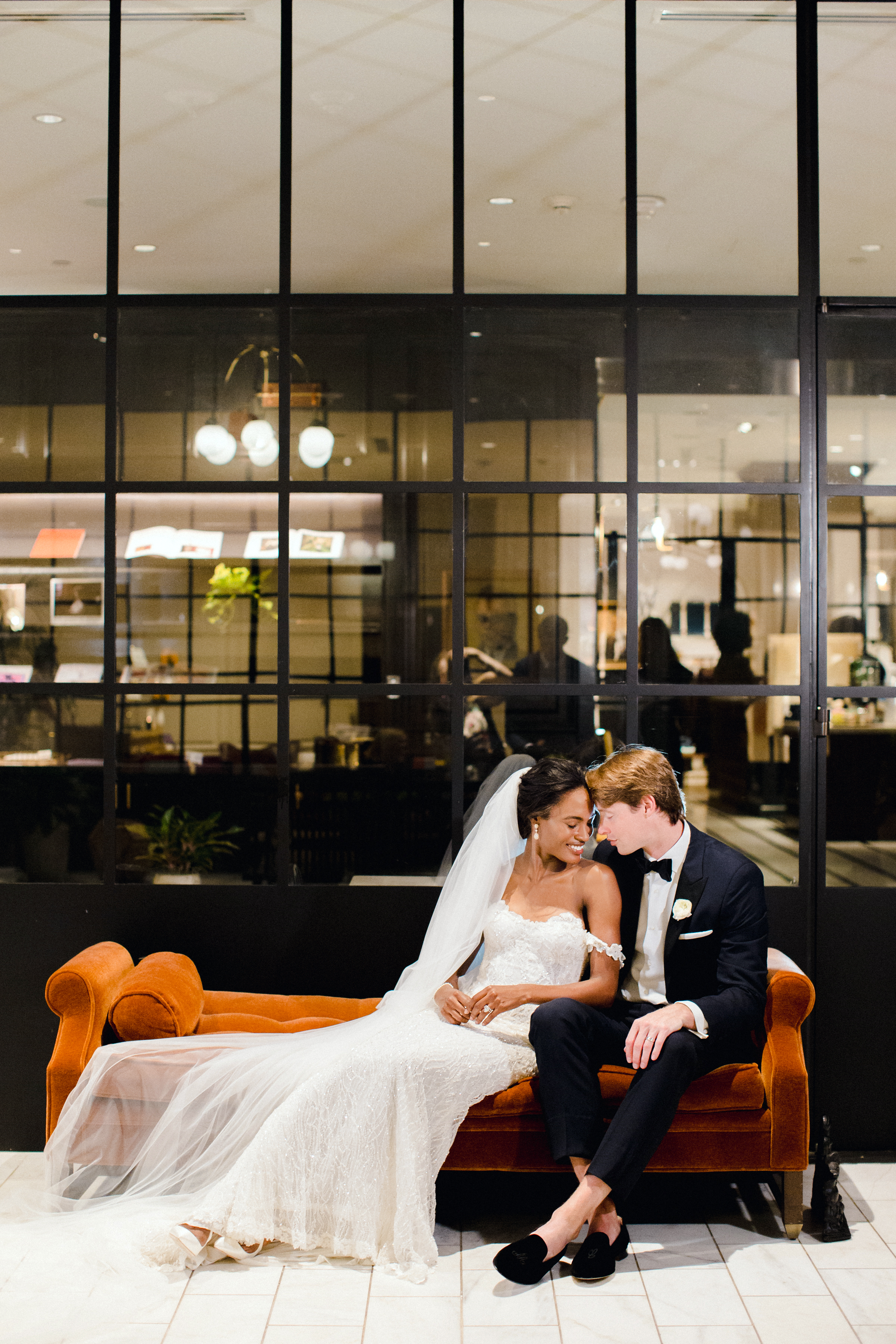 olivia collin wedding couple posing for portraits