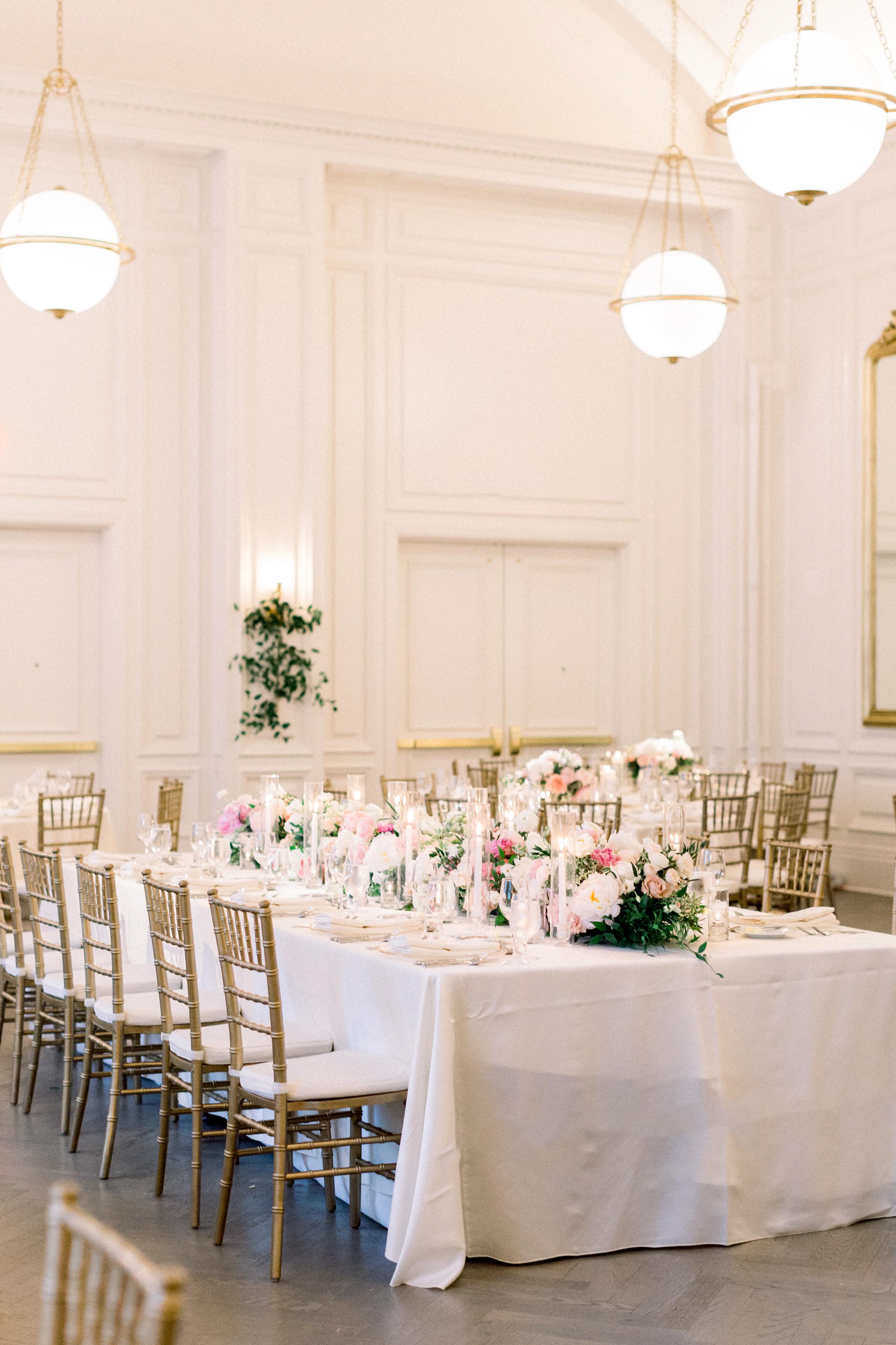 olivia collin wedding reception tables