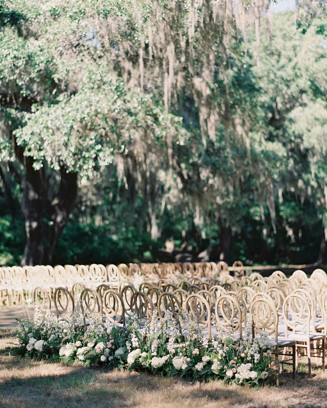 chelsea john wedding wooden ceremony chairs