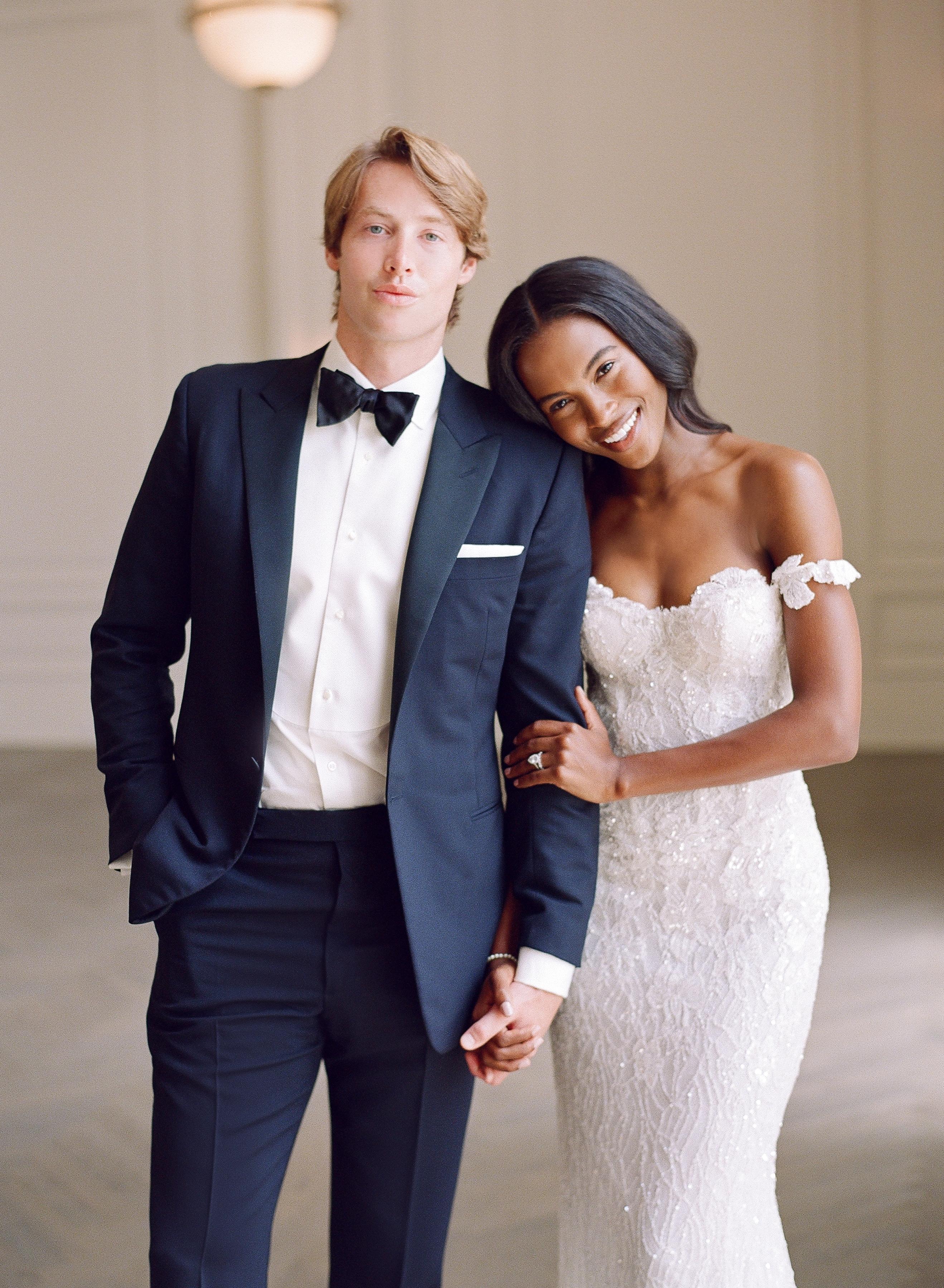 olivia collin wedding couple