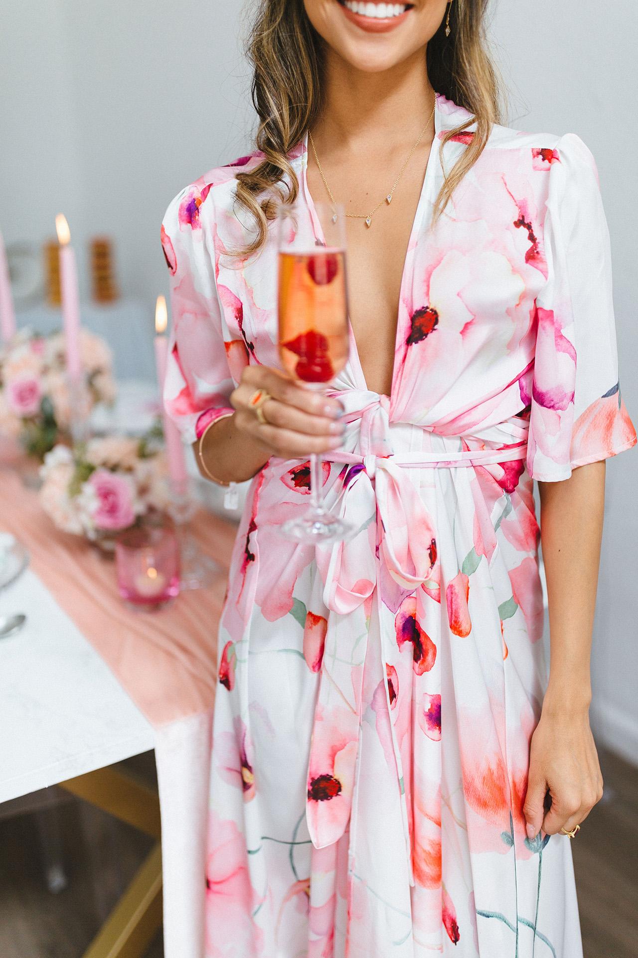 summer bridal shower ideas floral attire