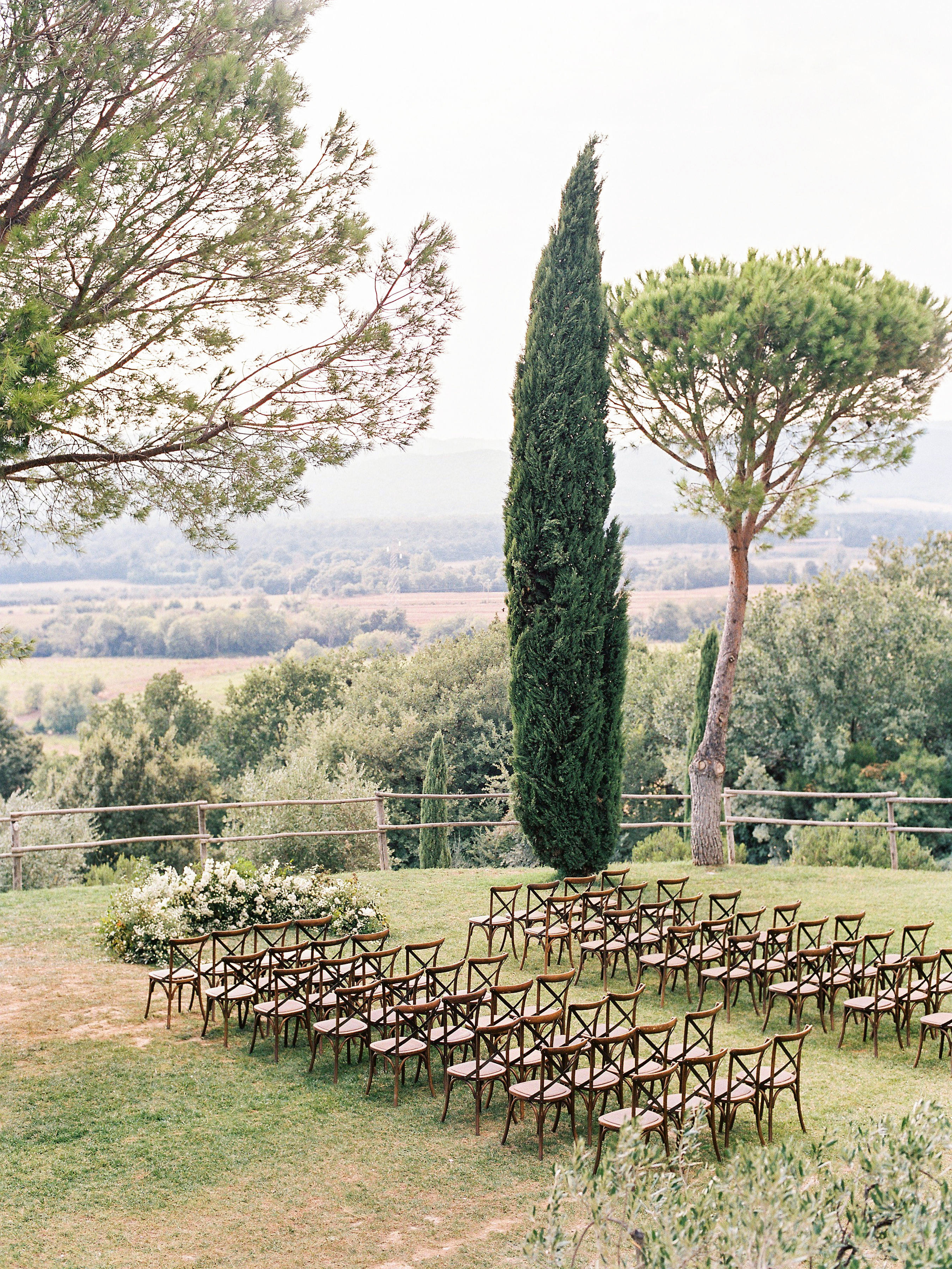 kseniya sadhir wedding outdoor ceremony space