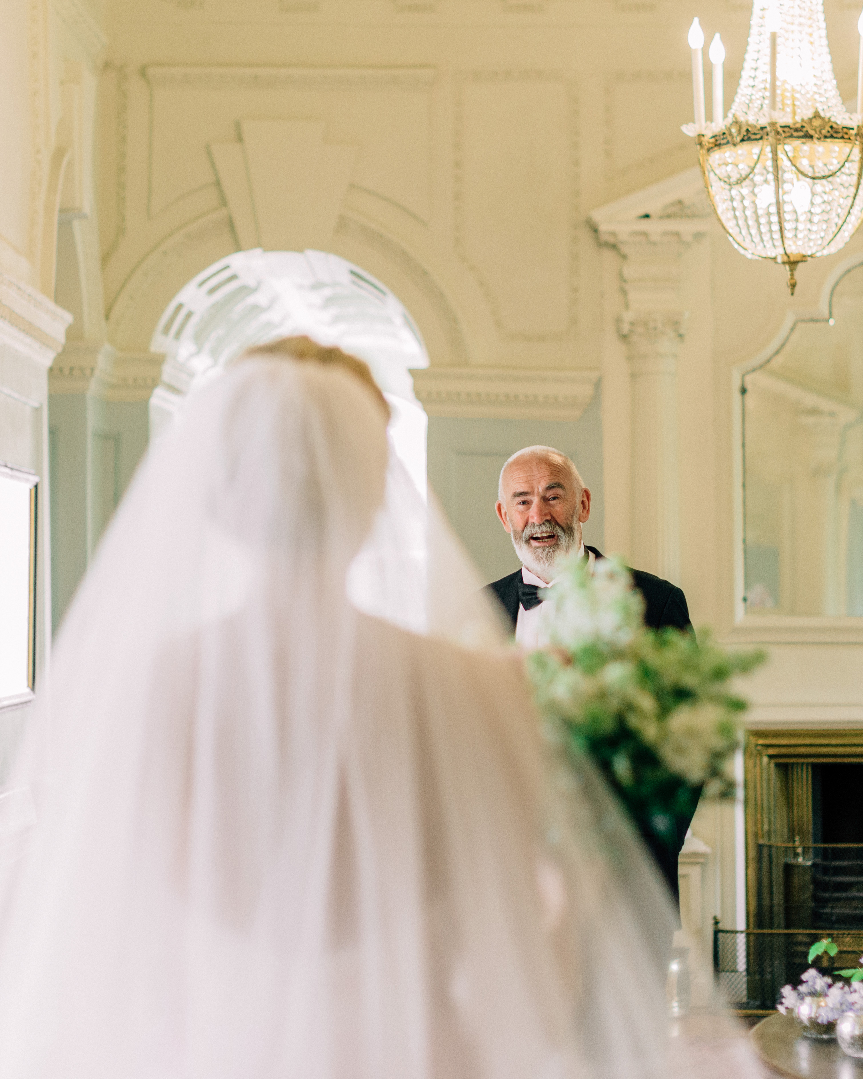blathnaid daire wedding bride first look with dad