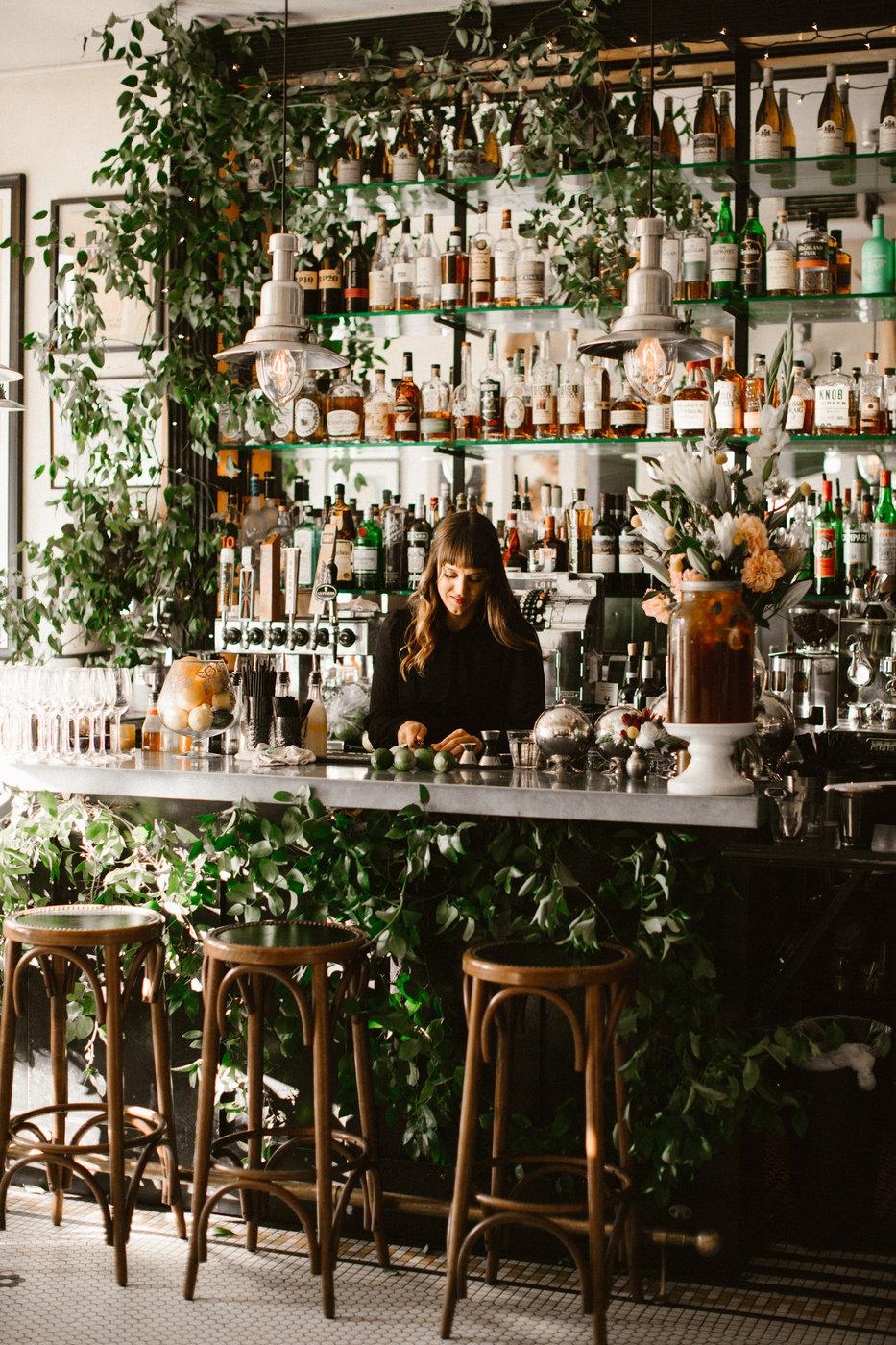 living bar restaurant wedding ideas