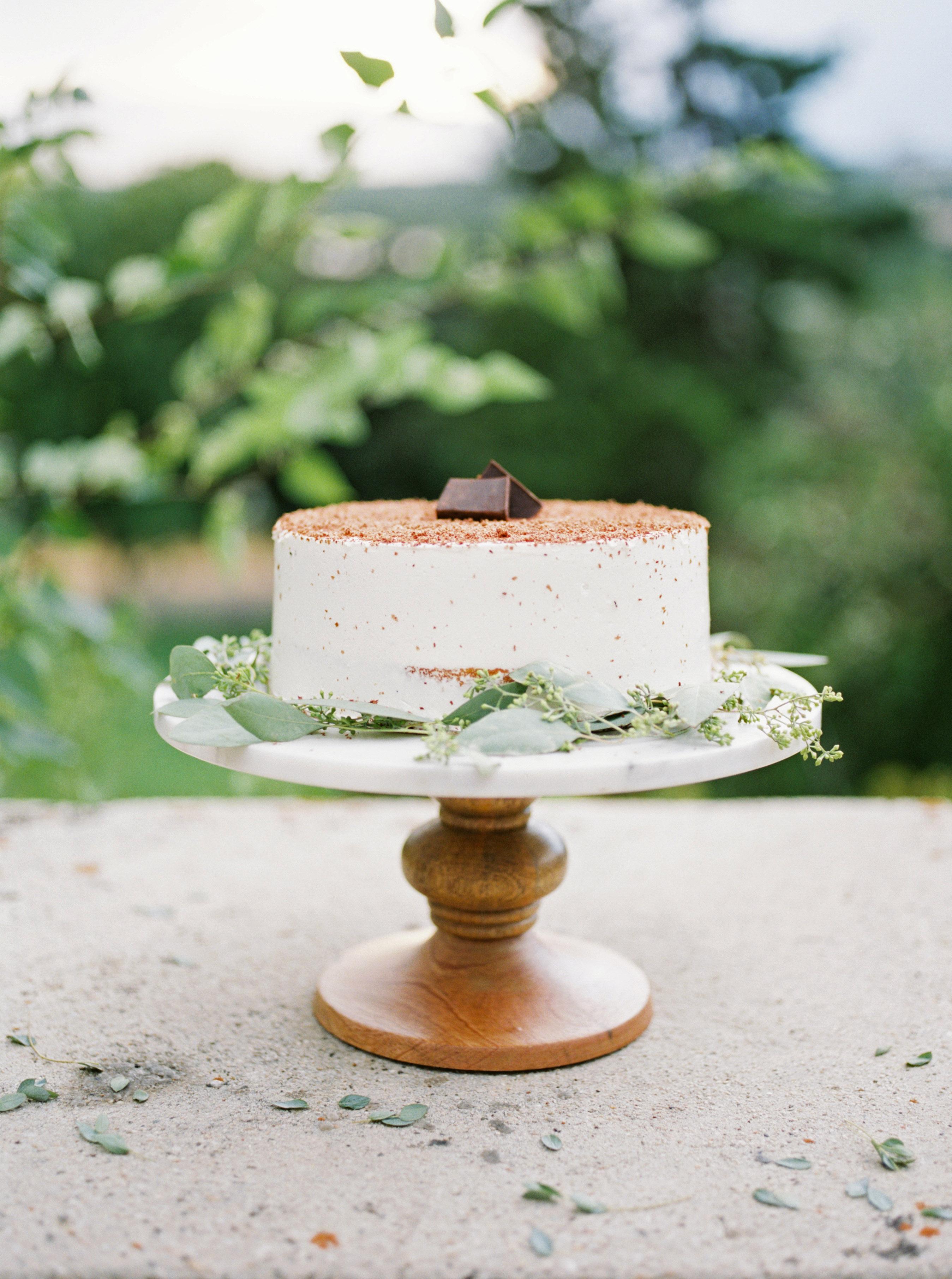 tiramisu wedding cake