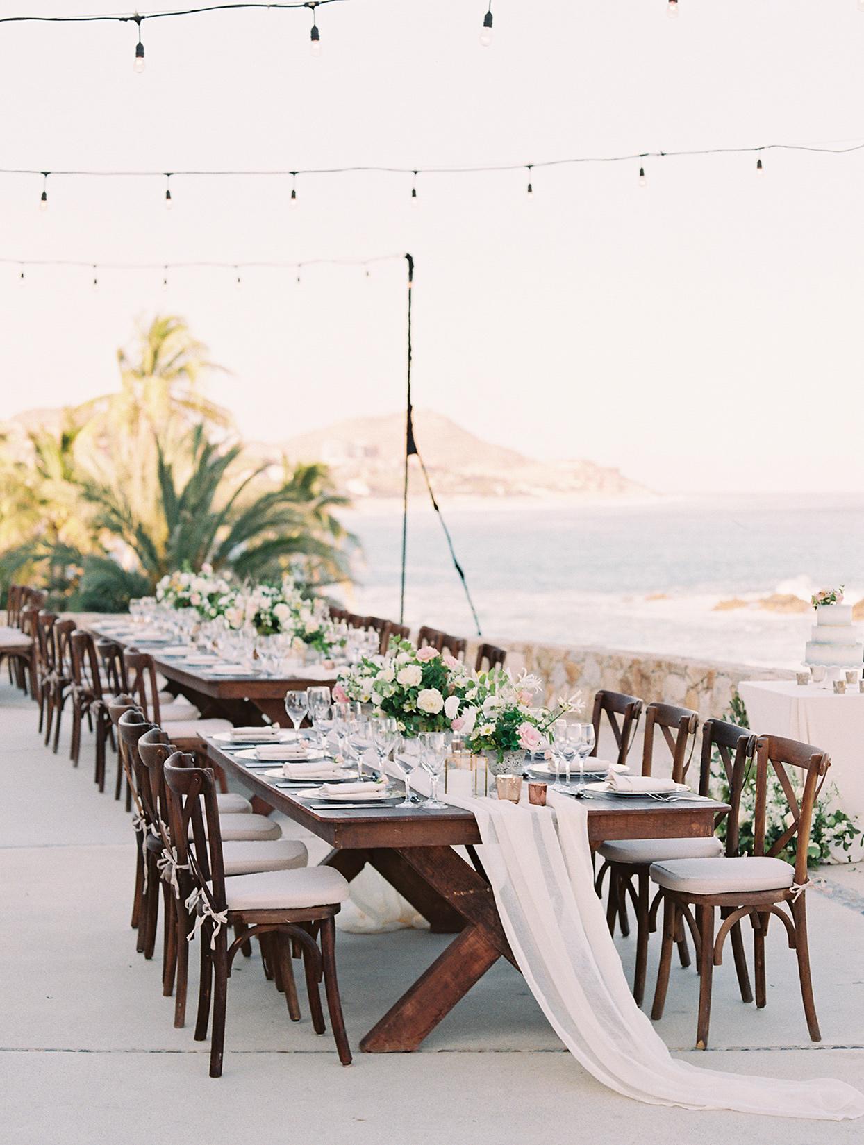 kirsten deran wedding reception on the beach