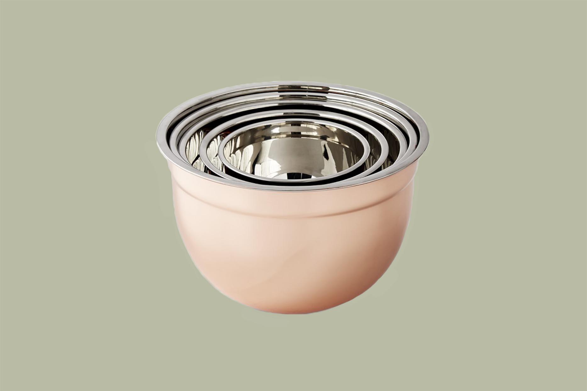 Williams-Sonoma Copper Mixing Bowls
