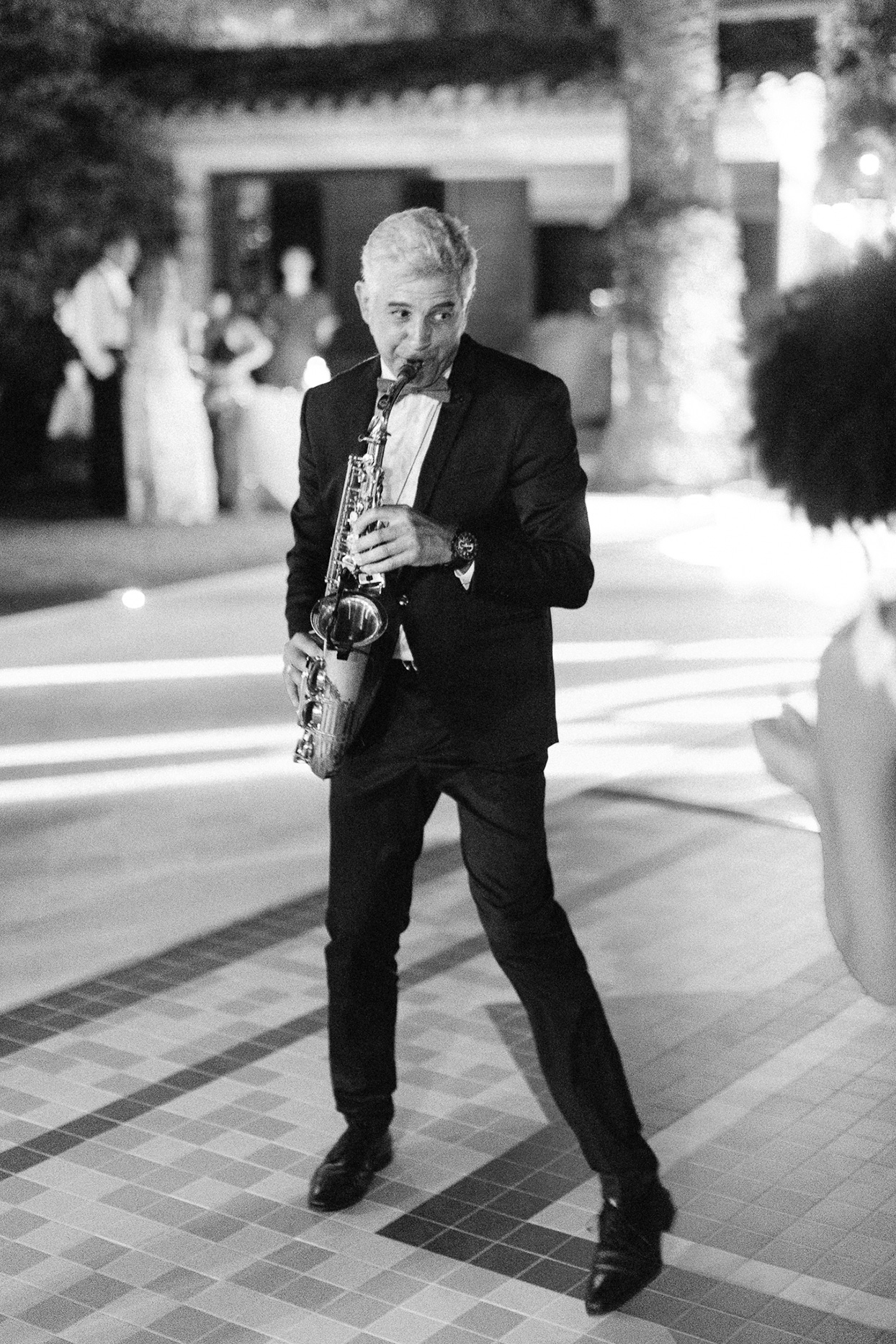 patricia ralph wedding saxophone player