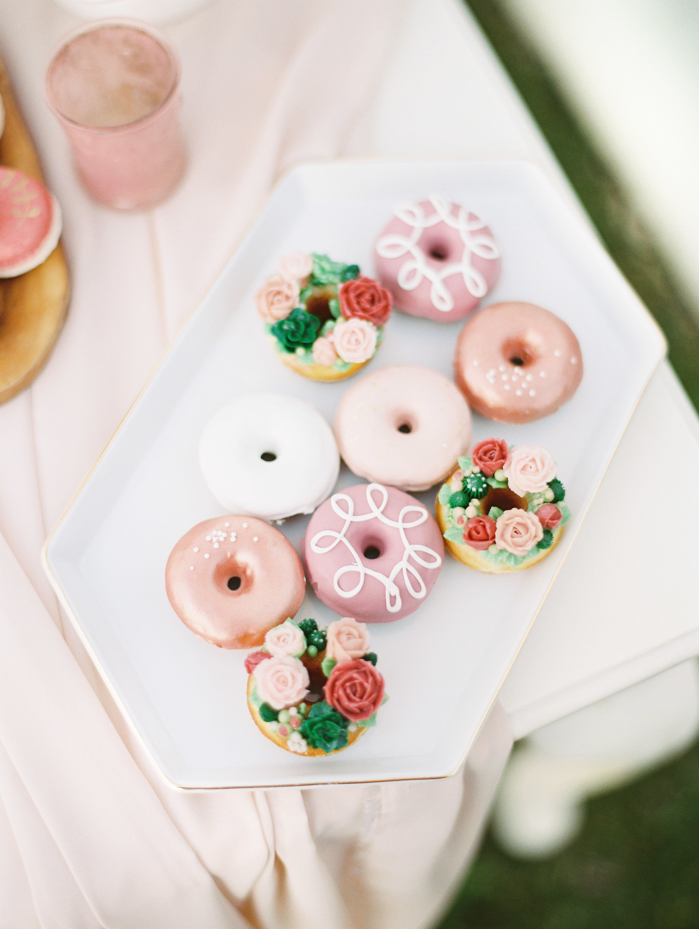 donuts for bridal shower tea party