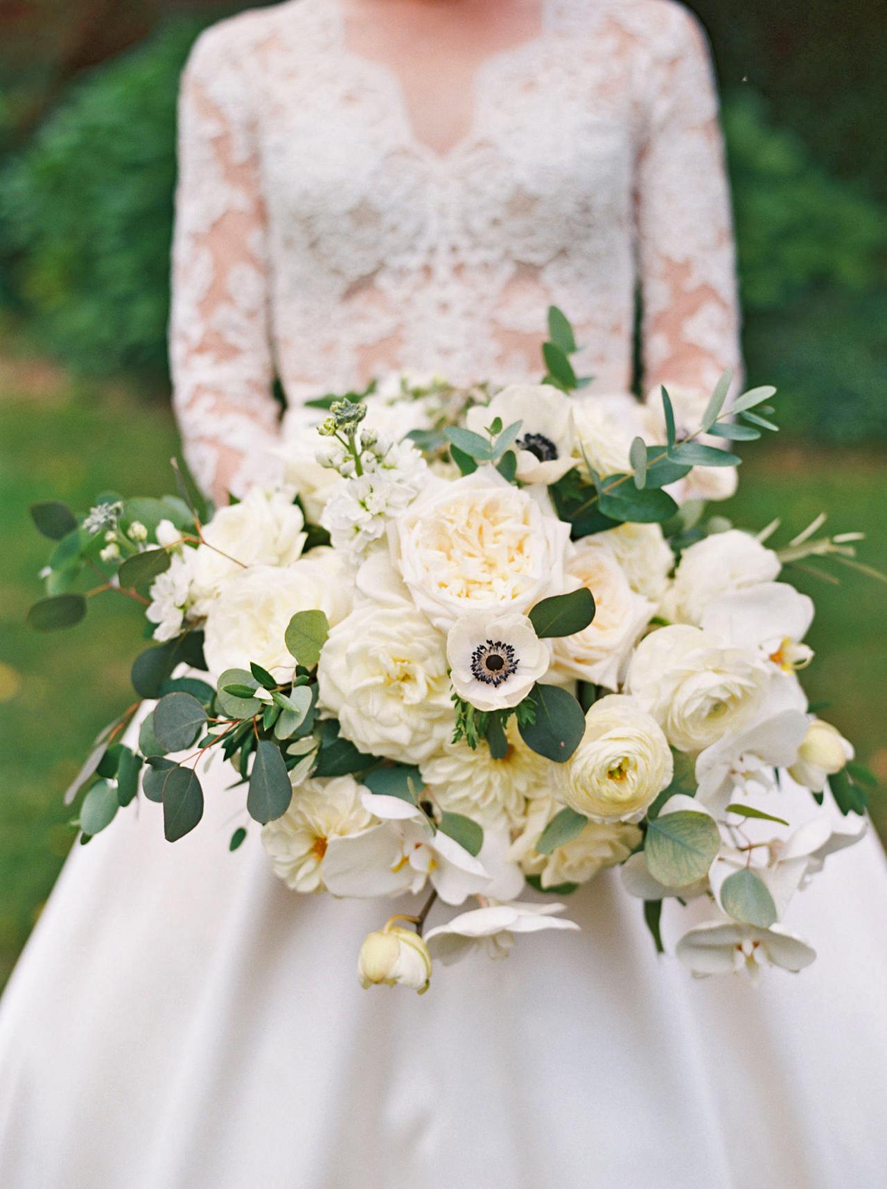 kathleen henry wedding bouquet