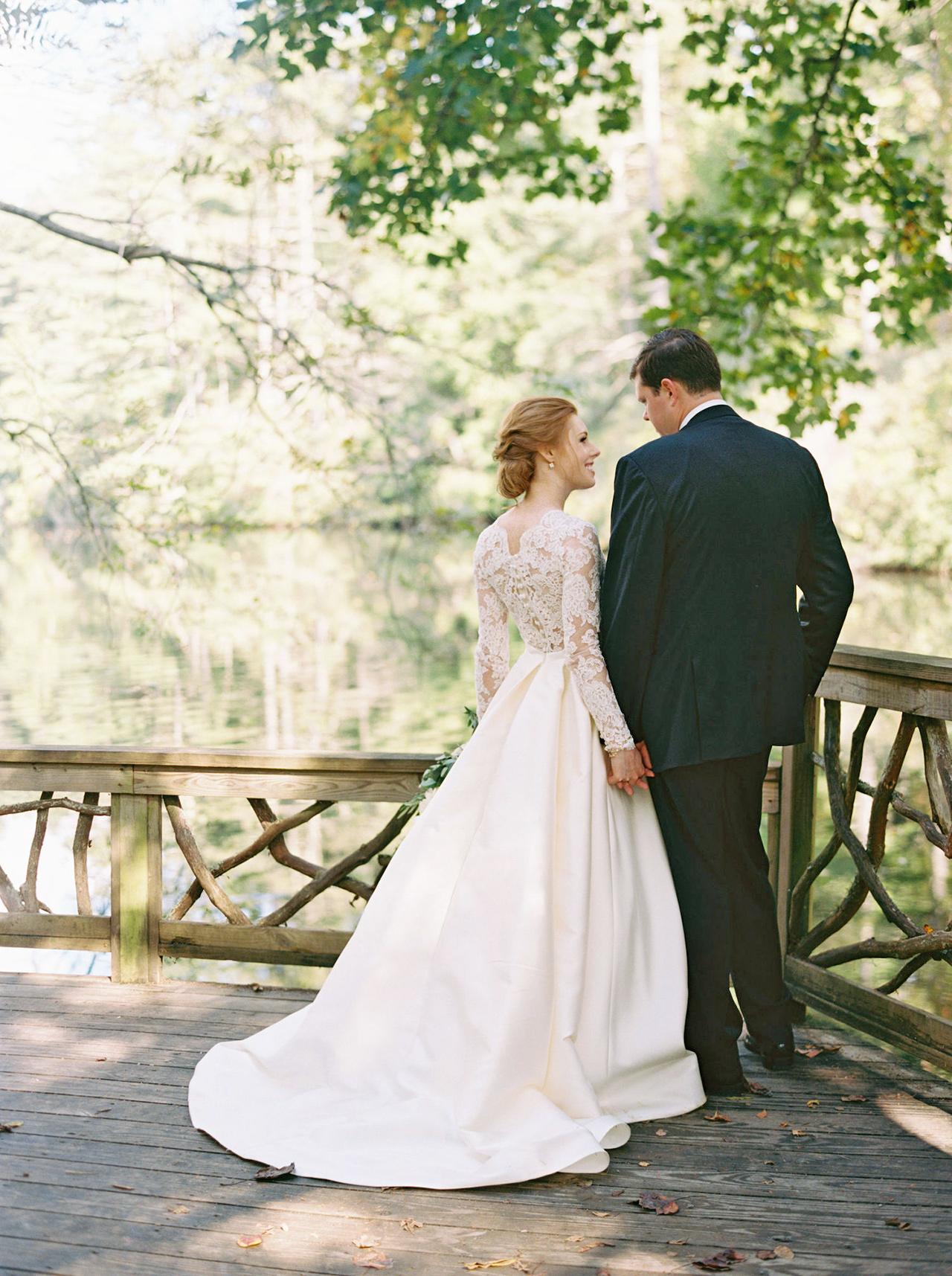 kathleen henry wedding first look
