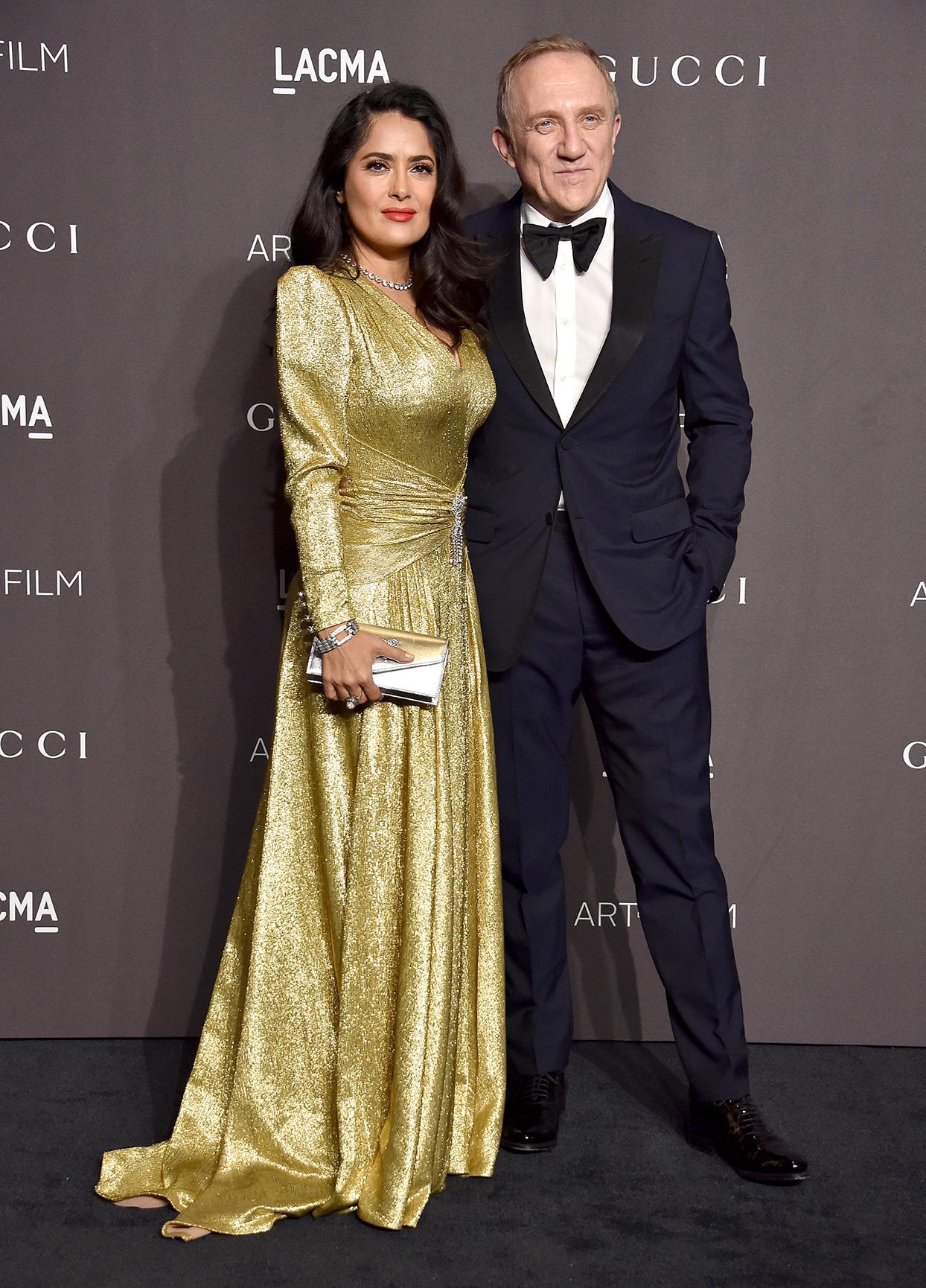 Salma Hayek and Francois-Henri Pinault couple
