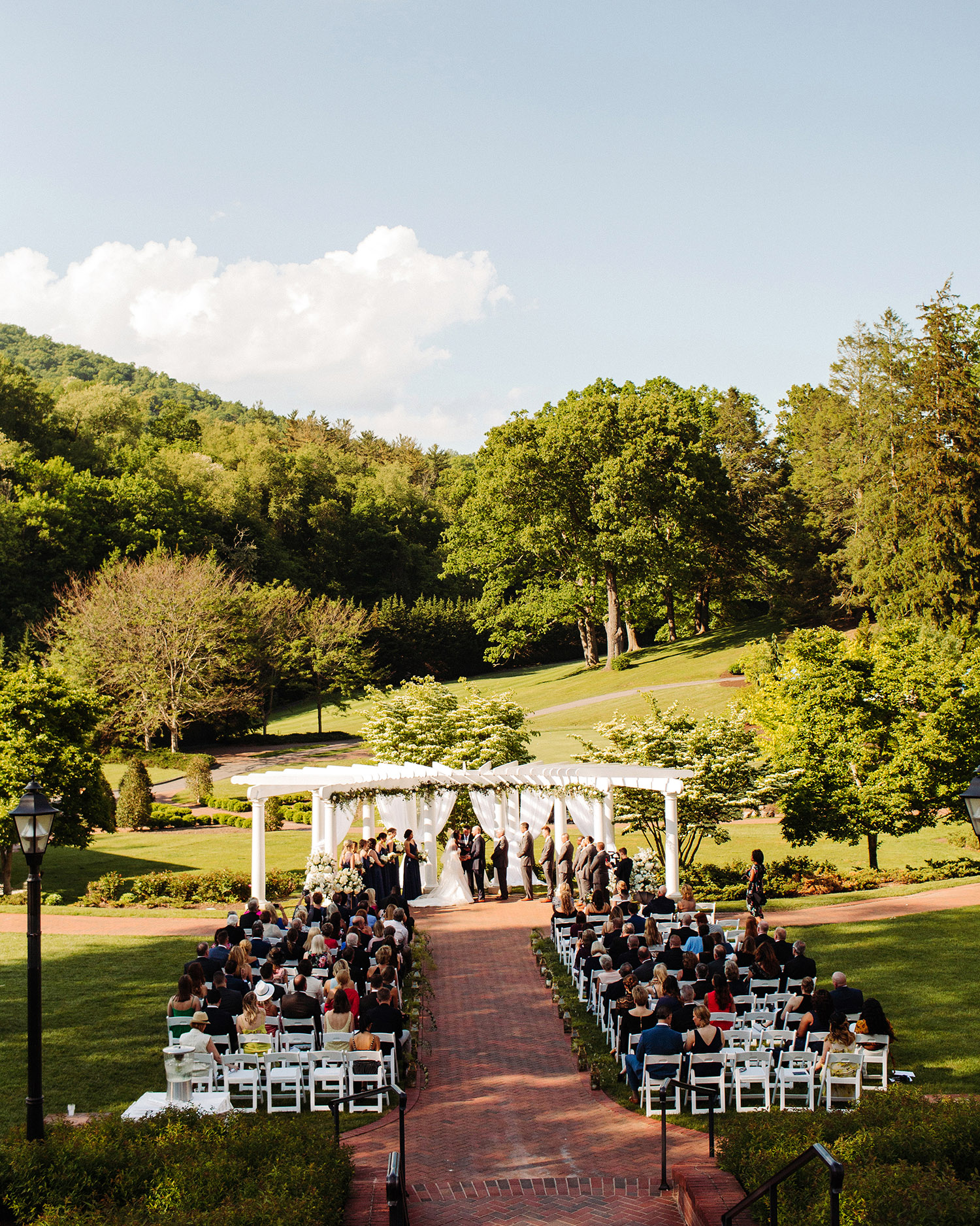 bryanna nick wedding couple outdoor ceremony