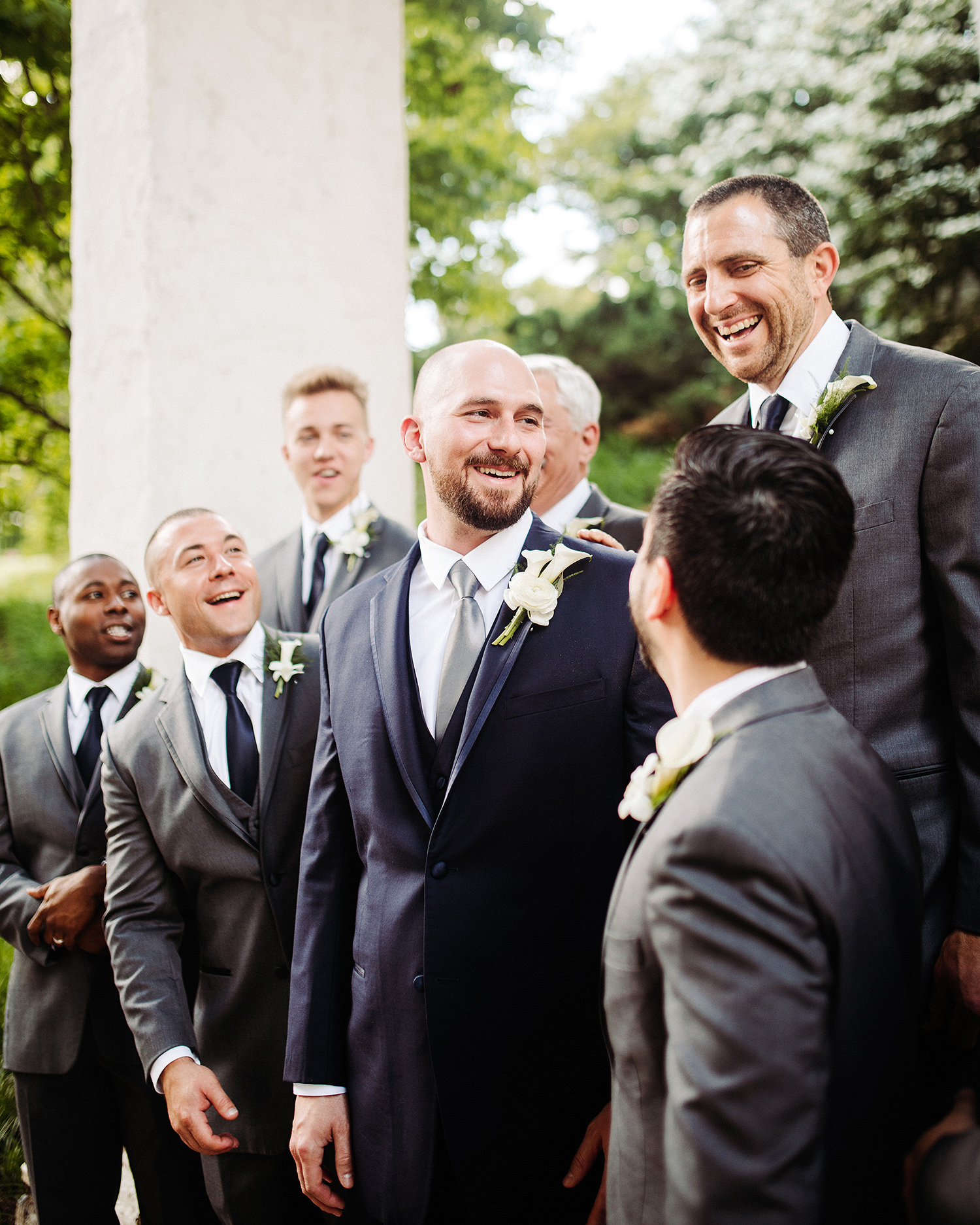 bryanna nick wedding groom groomsmen