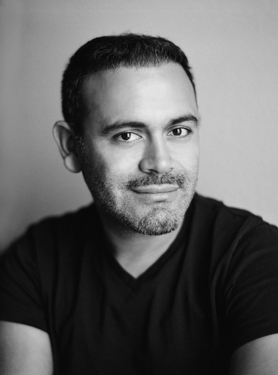 black and white headshot of Jose Villa